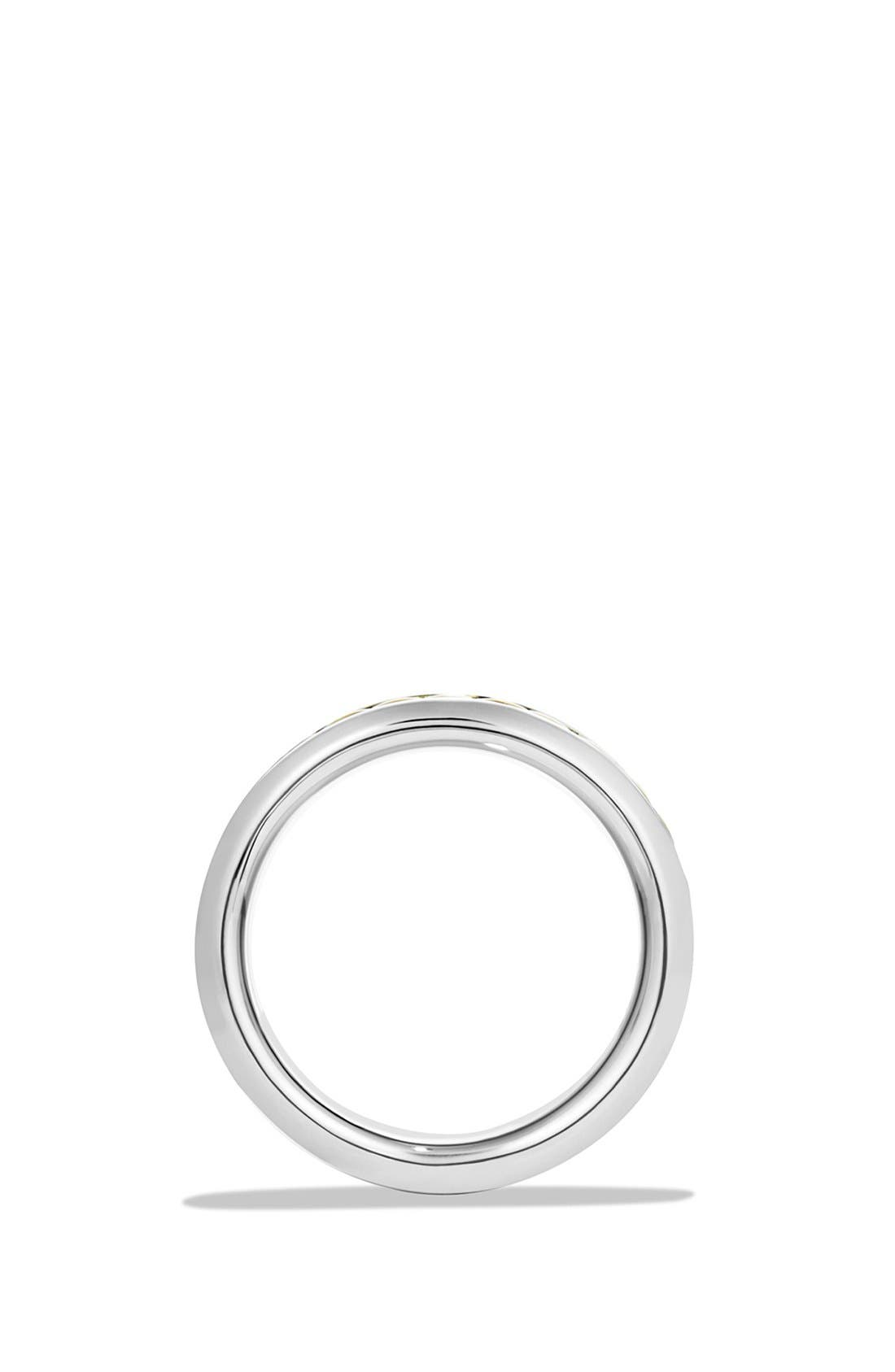 'Cable Classics' Band Ring with 18K Gold,                             Alternate thumbnail 2, color,                             TWO TONE