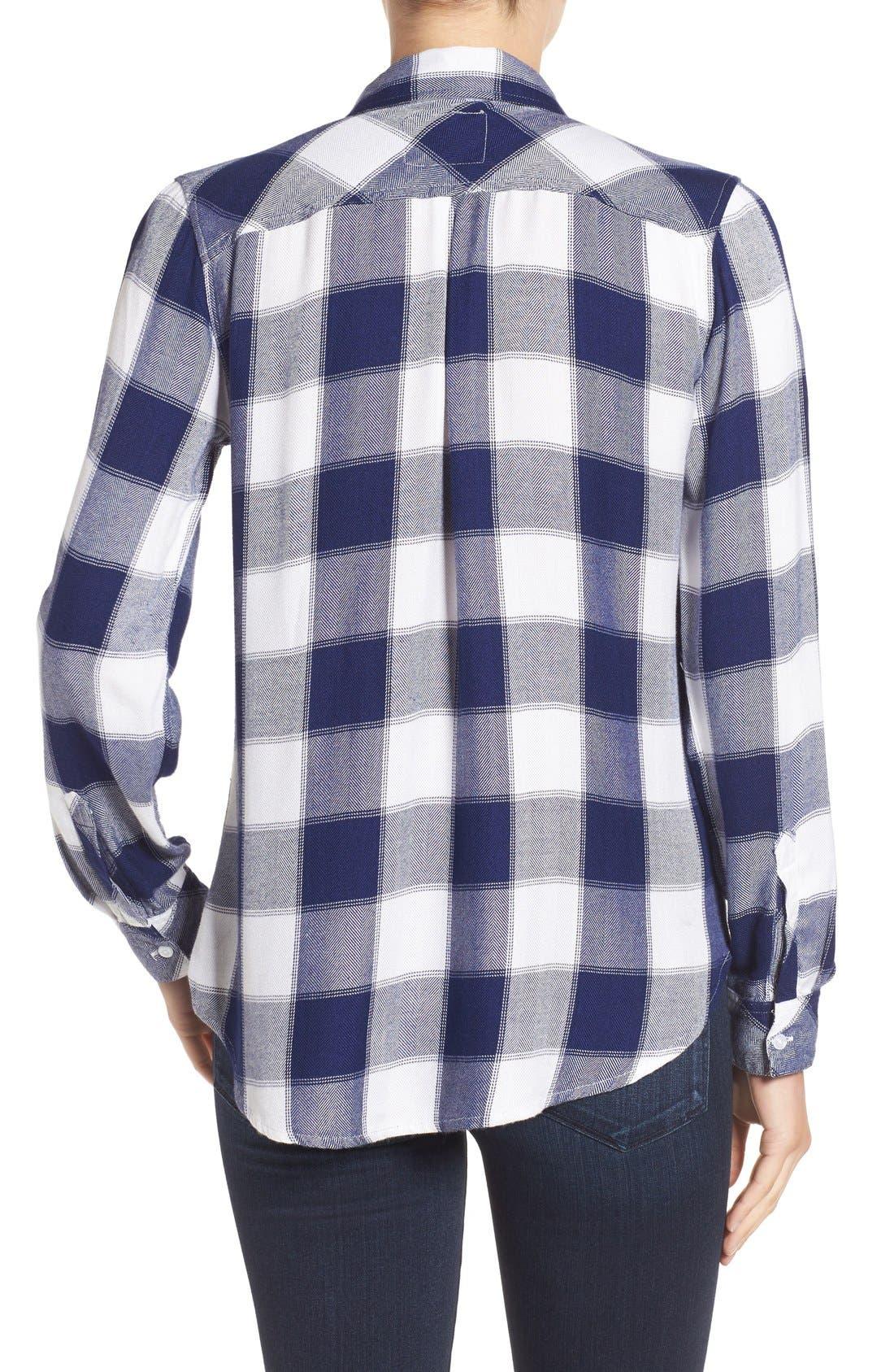 Hunter Plaid Shirt,                             Alternate thumbnail 388, color,