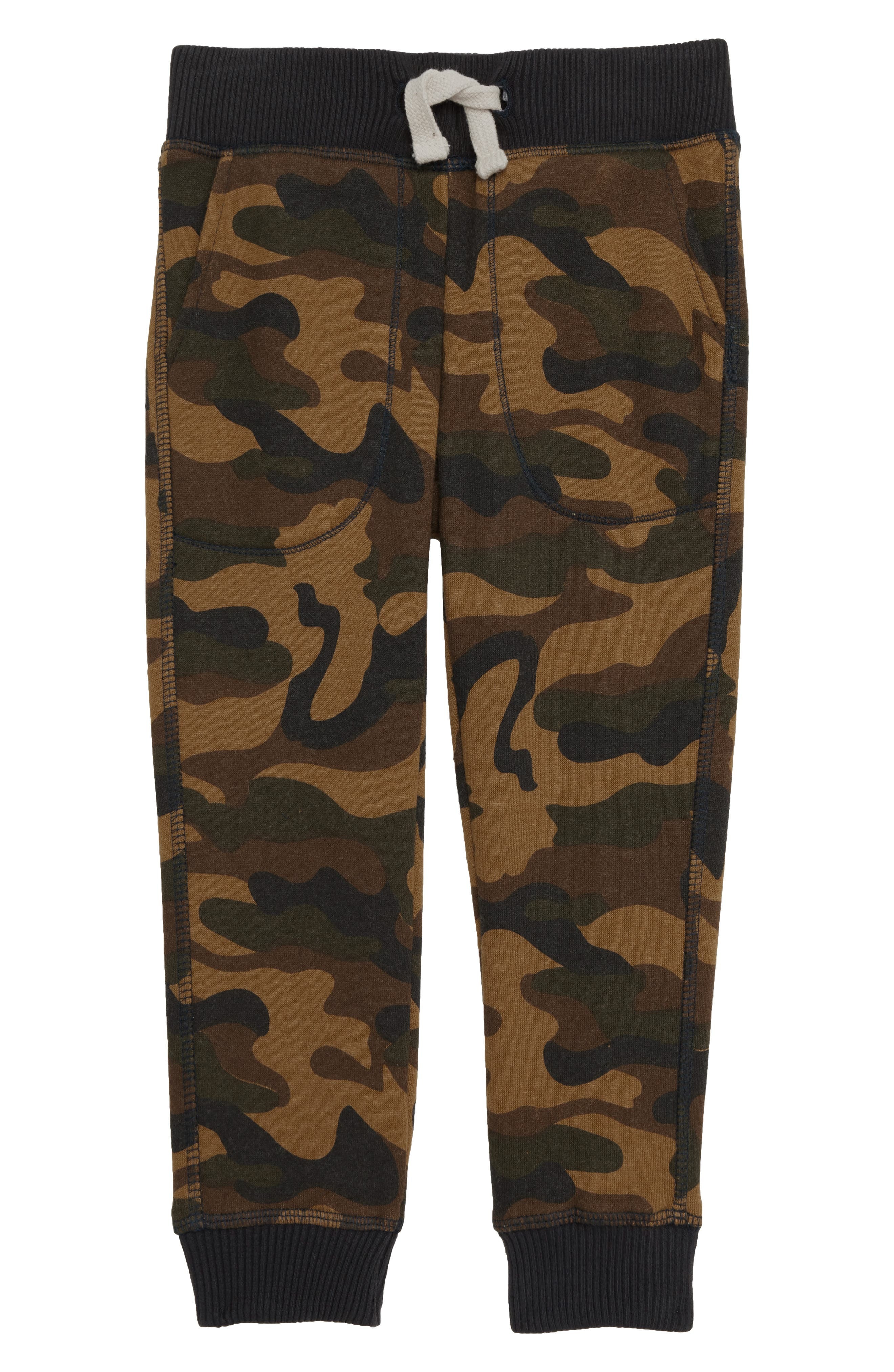 Zane Camo Jogger Pants,                             Main thumbnail 1, color,                             OLIVE
