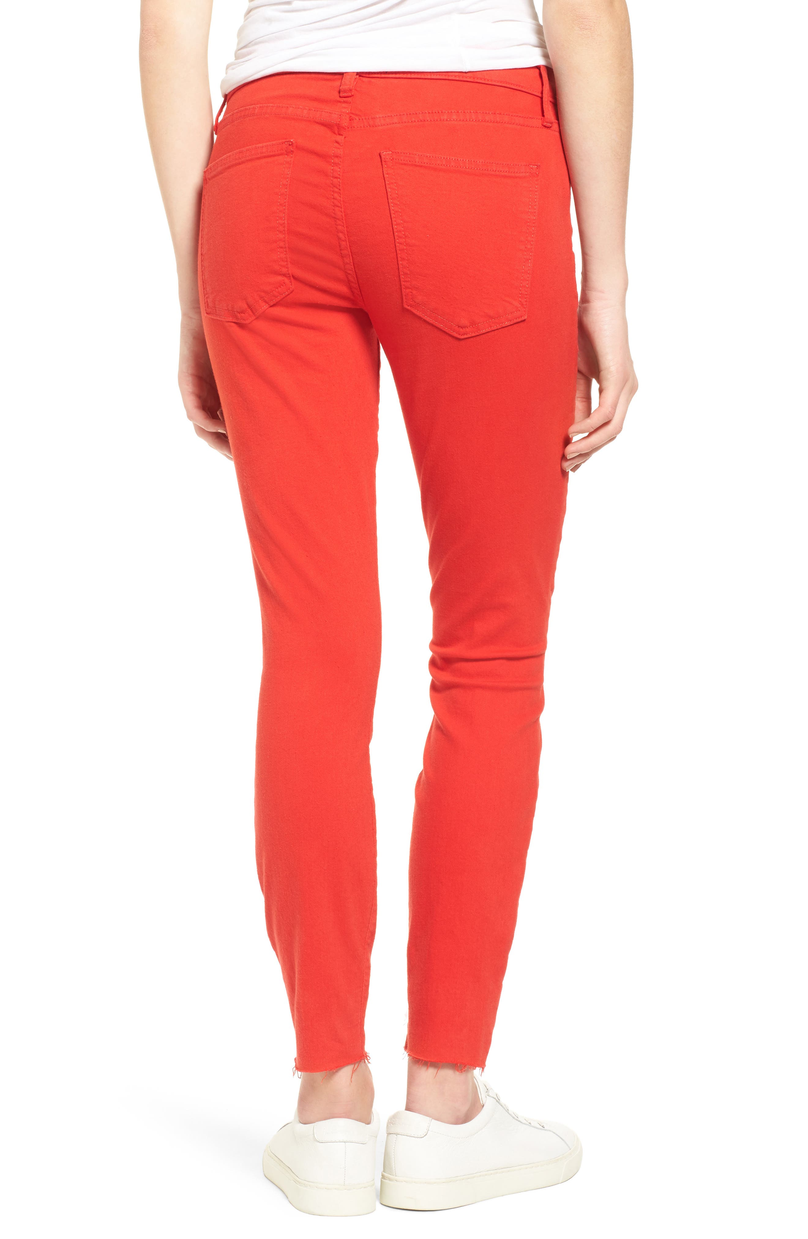 The Stiletto Crop Skinny Jeans,                             Alternate thumbnail 2, color,