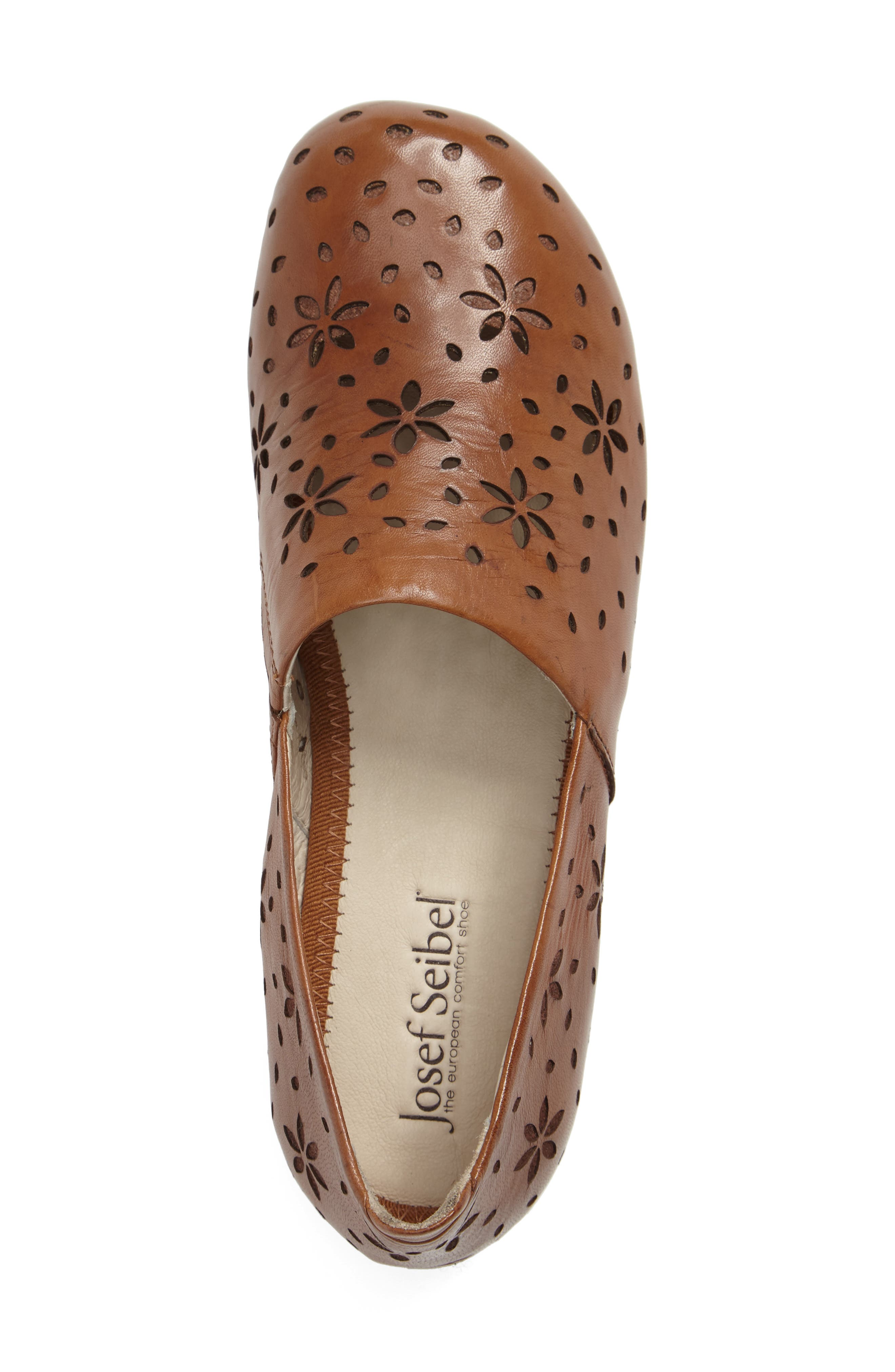 Fiona 31 Perforated Flat,                             Alternate thumbnail 8, color,