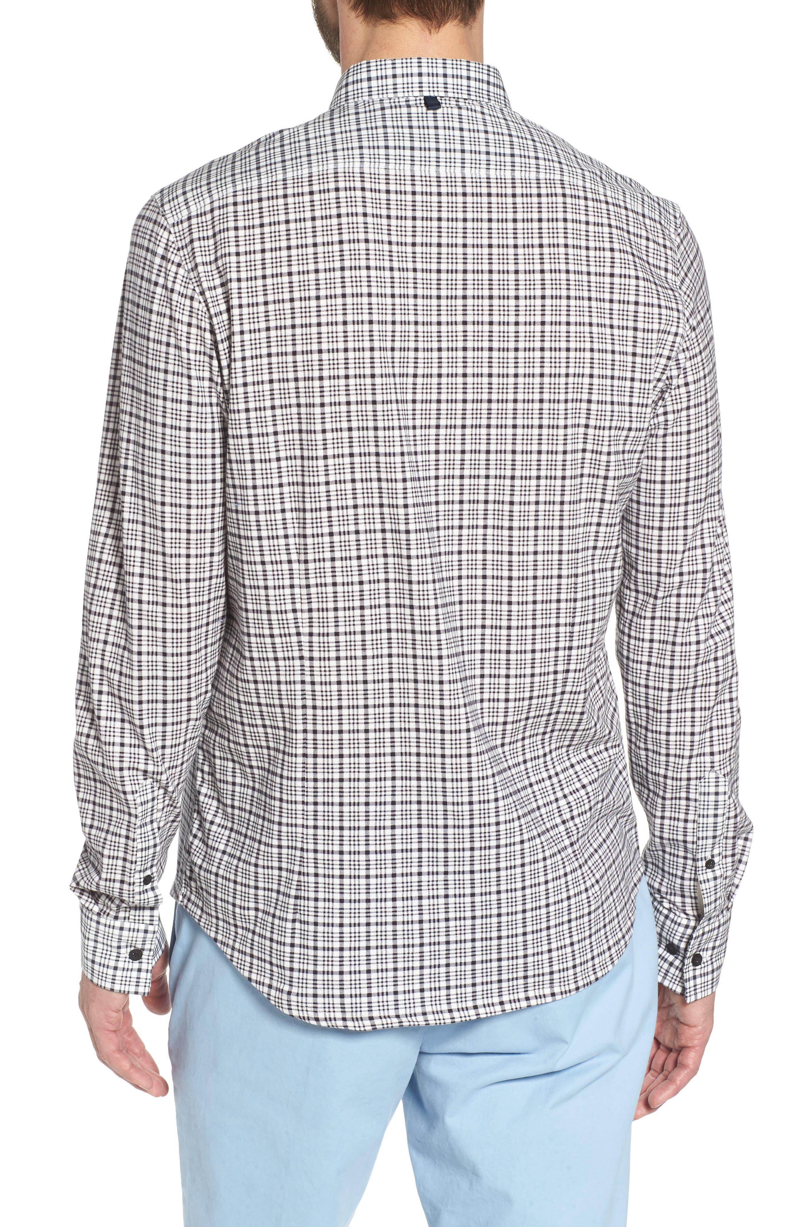 Check Slim Fit Sport Shirt,                             Alternate thumbnail 2, color,                             103