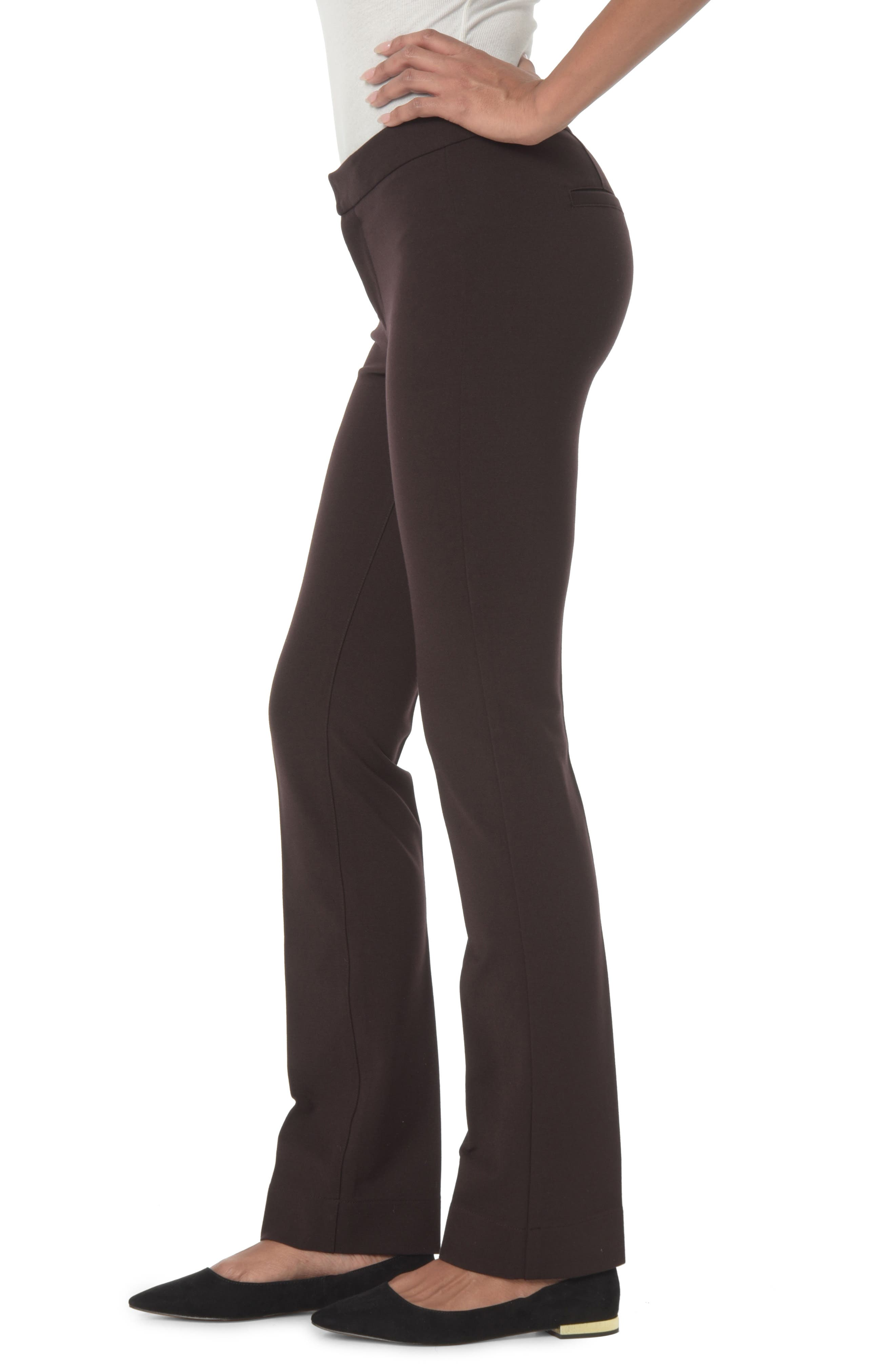 Stretch Knit Trousers,                             Alternate thumbnail 3, color,                             217