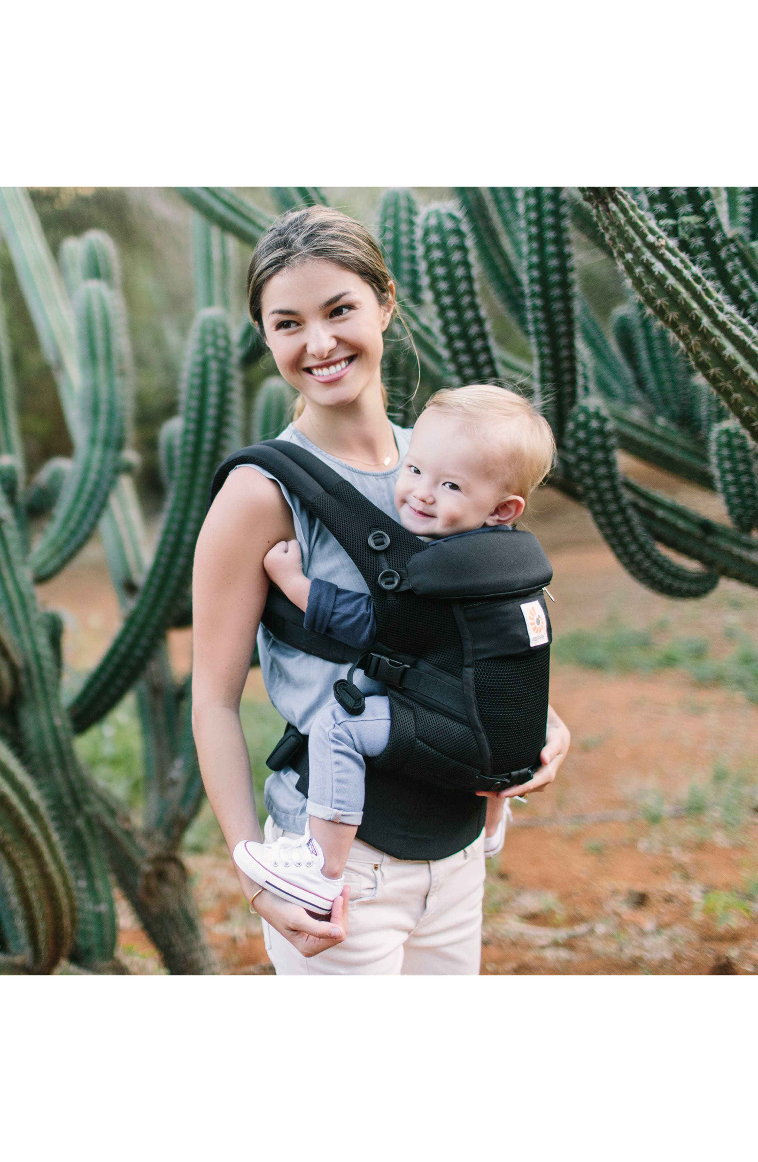 Three Position ADAPT Baby Carrier,                             Alternate thumbnail 4, color,                             ONYX BLACK