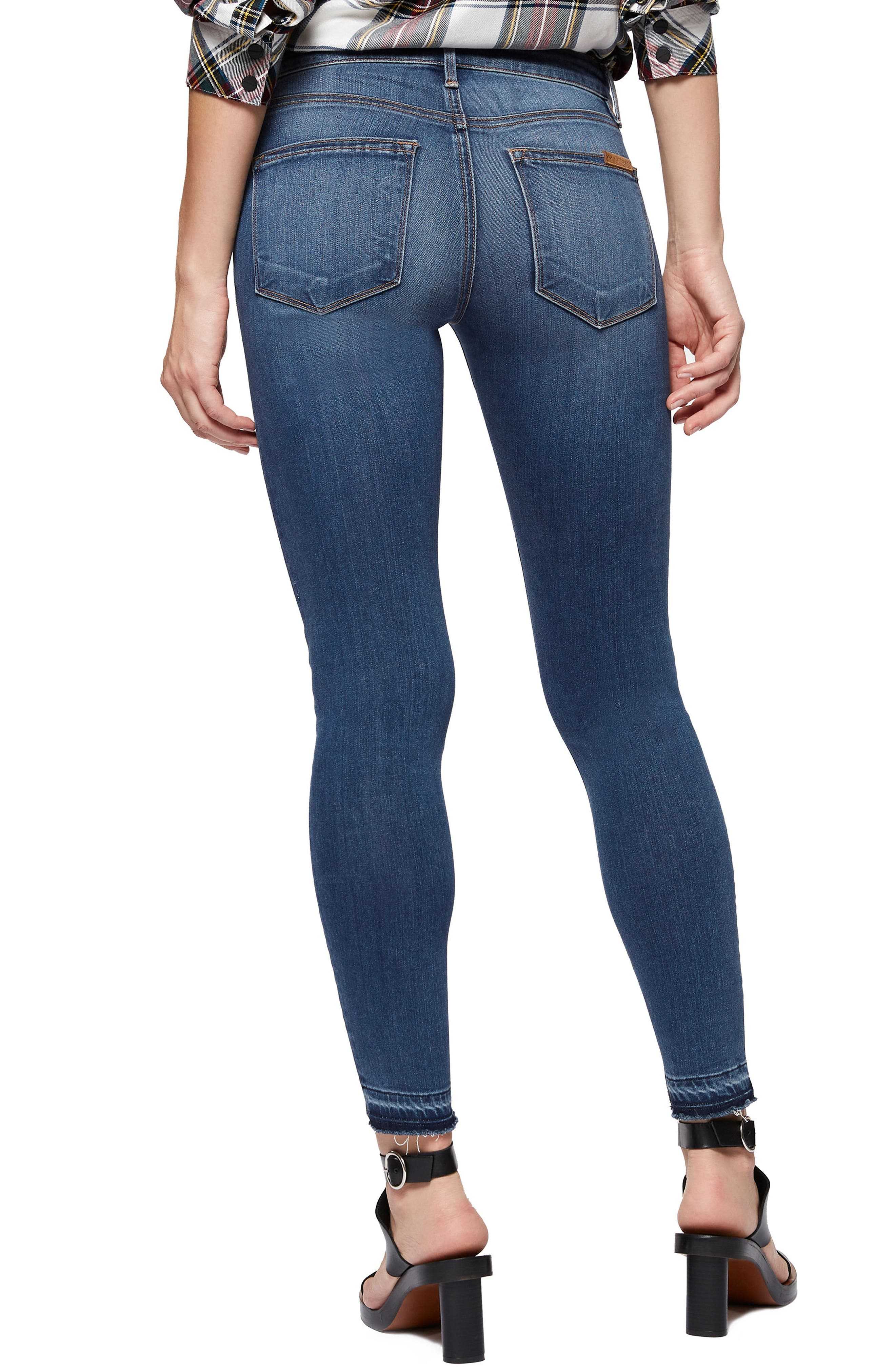 Robbie High Waist Skinny Jeans,                             Alternate thumbnail 2, color,                             421
