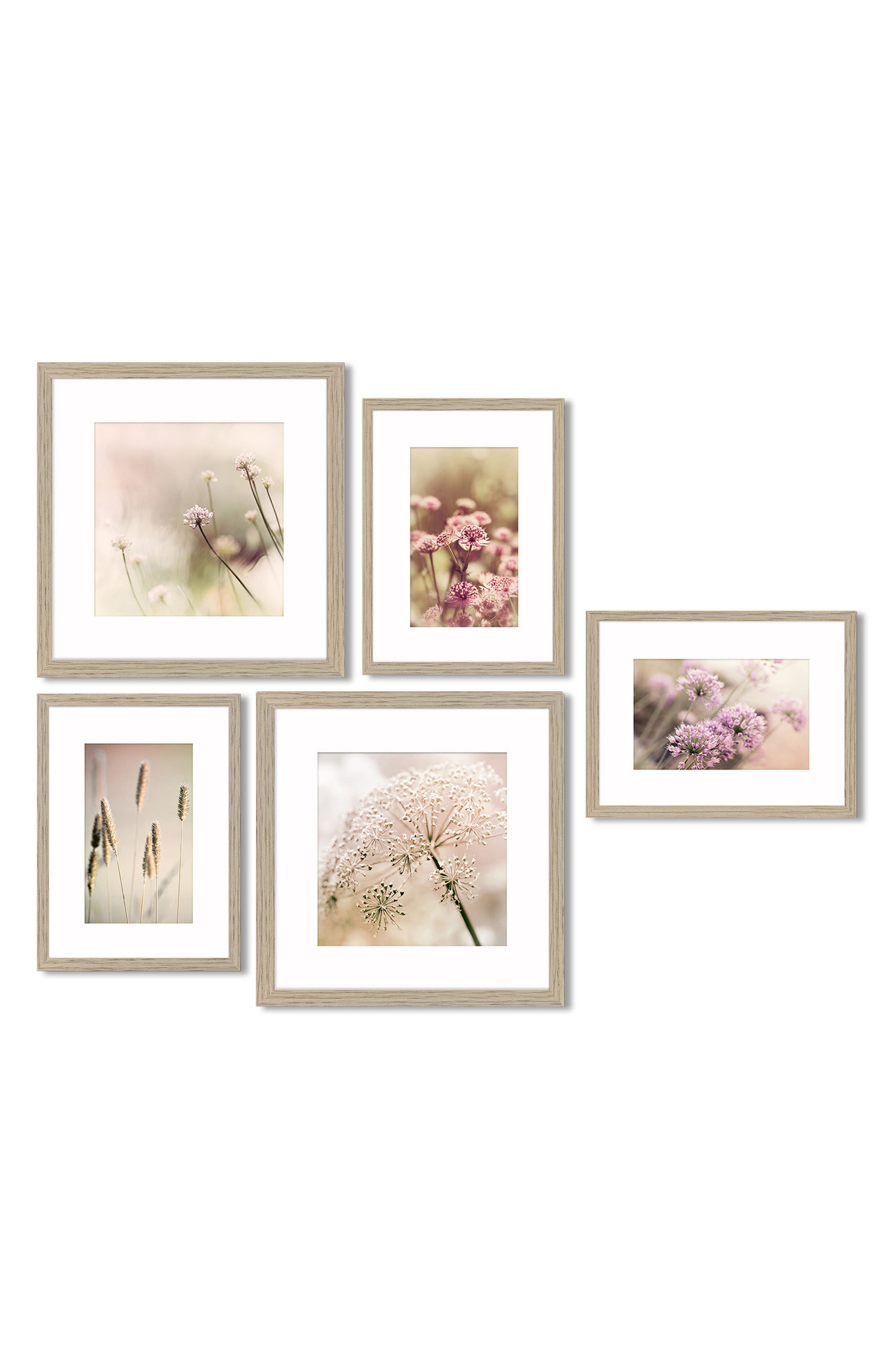 5-Piece Framed Wall Art Gallery,                         Main,                         color, 650