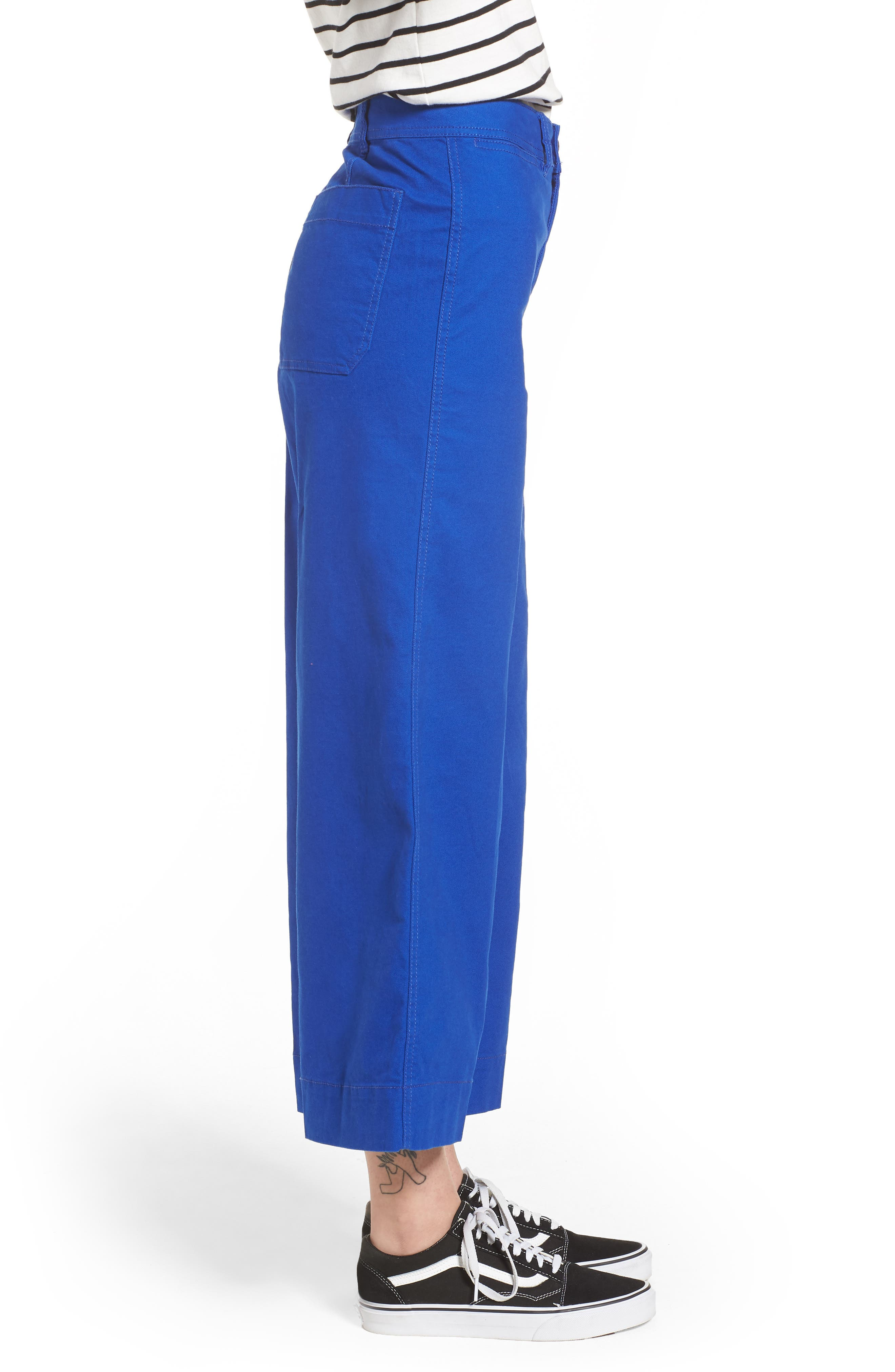 Emmett Crop Wide Leg Pants,                             Alternate thumbnail 11, color,