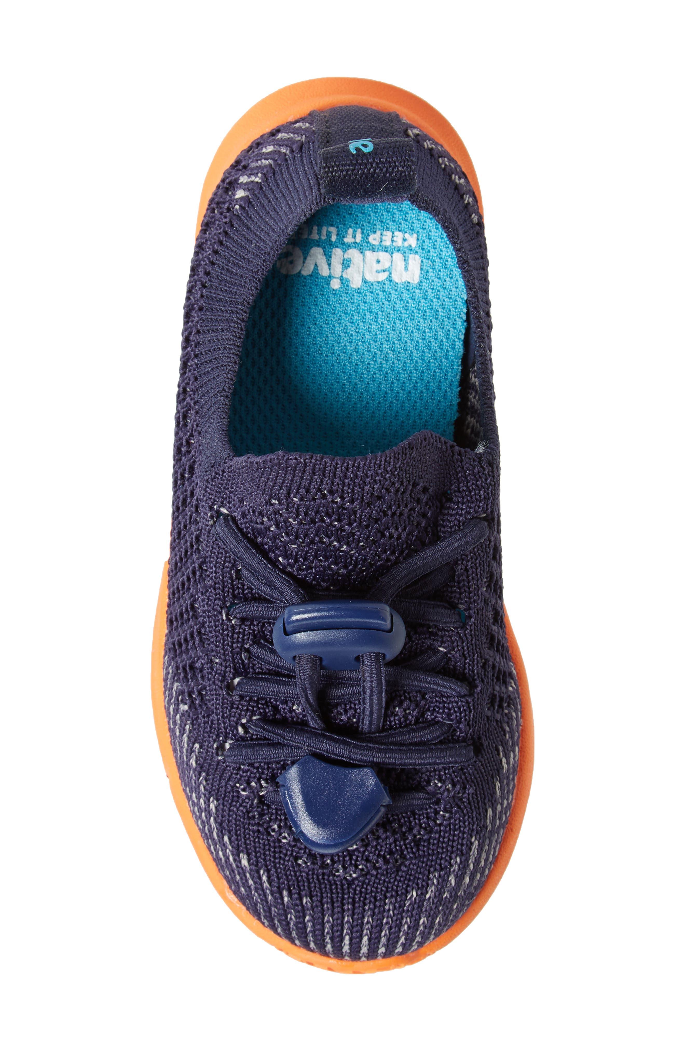 AP Mercury LiteKnit Sneaker,                             Alternate thumbnail 5, color,                             REGATTA BLUE/ SUNSET ORANGE