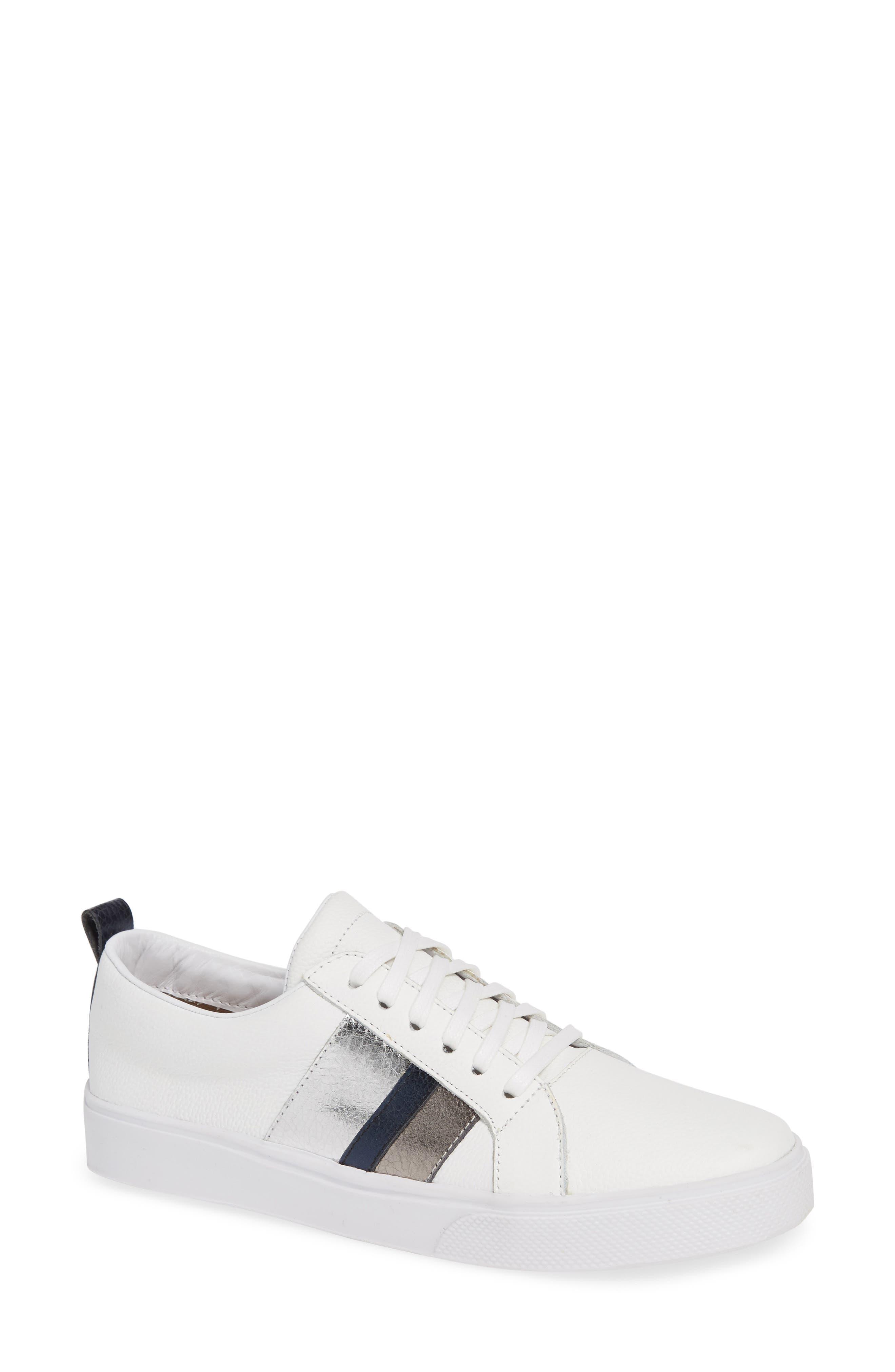 Bristol Sneaker,                             Main thumbnail 1, color,                             BLUE LEATHER