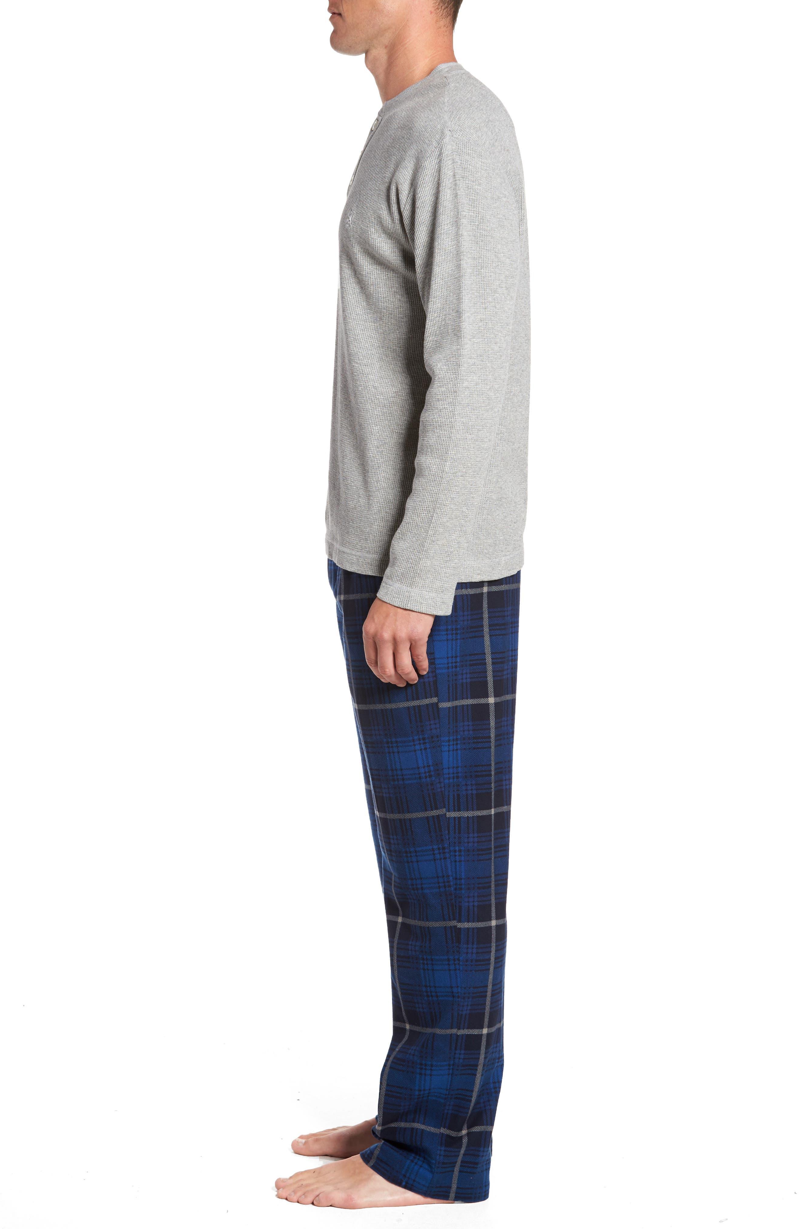 Nifty Gift Henley Shirt & Lounge Pants,                             Alternate thumbnail 3, color,                             025