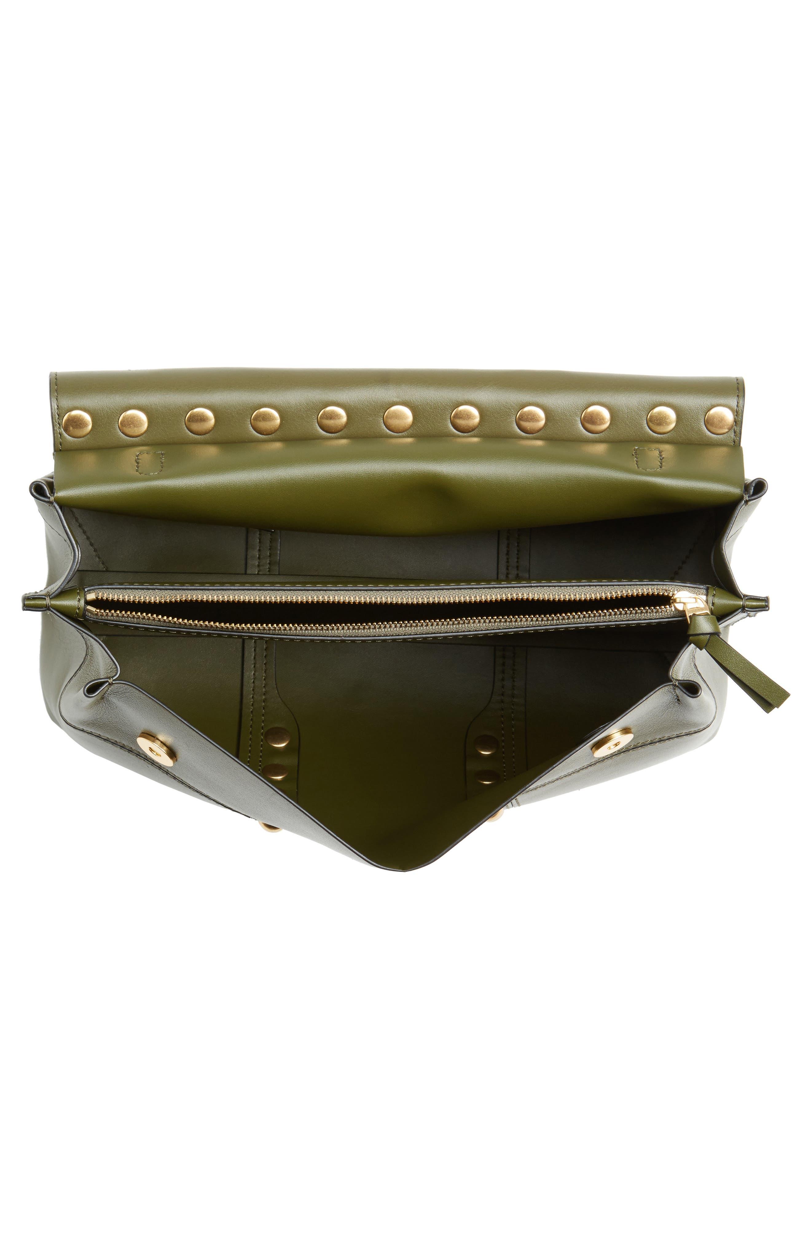 Block-T Studded Leather Top Handle Satchel,                             Alternate thumbnail 4, color,                             300