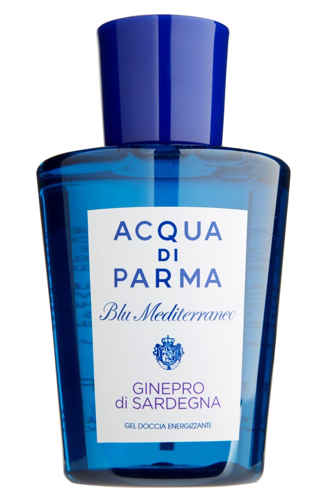 'Blu Mediterraneo - Ginepro di Sardegna' Energizing Shower Gel,                             Main thumbnail 1, color,                             NO COLOR