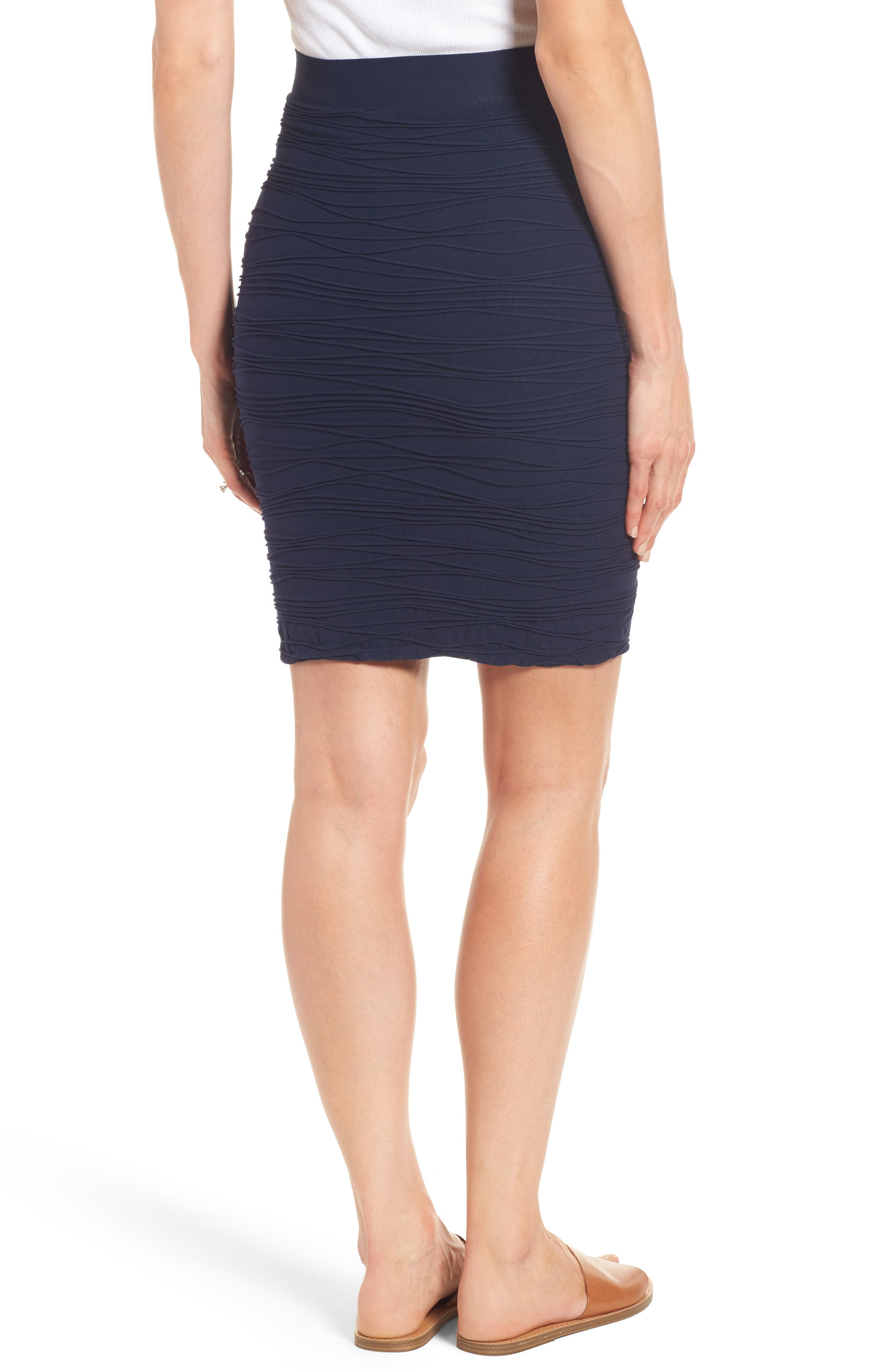 'Line' Maternity Skirt,                             Alternate thumbnail 2, color,                             002