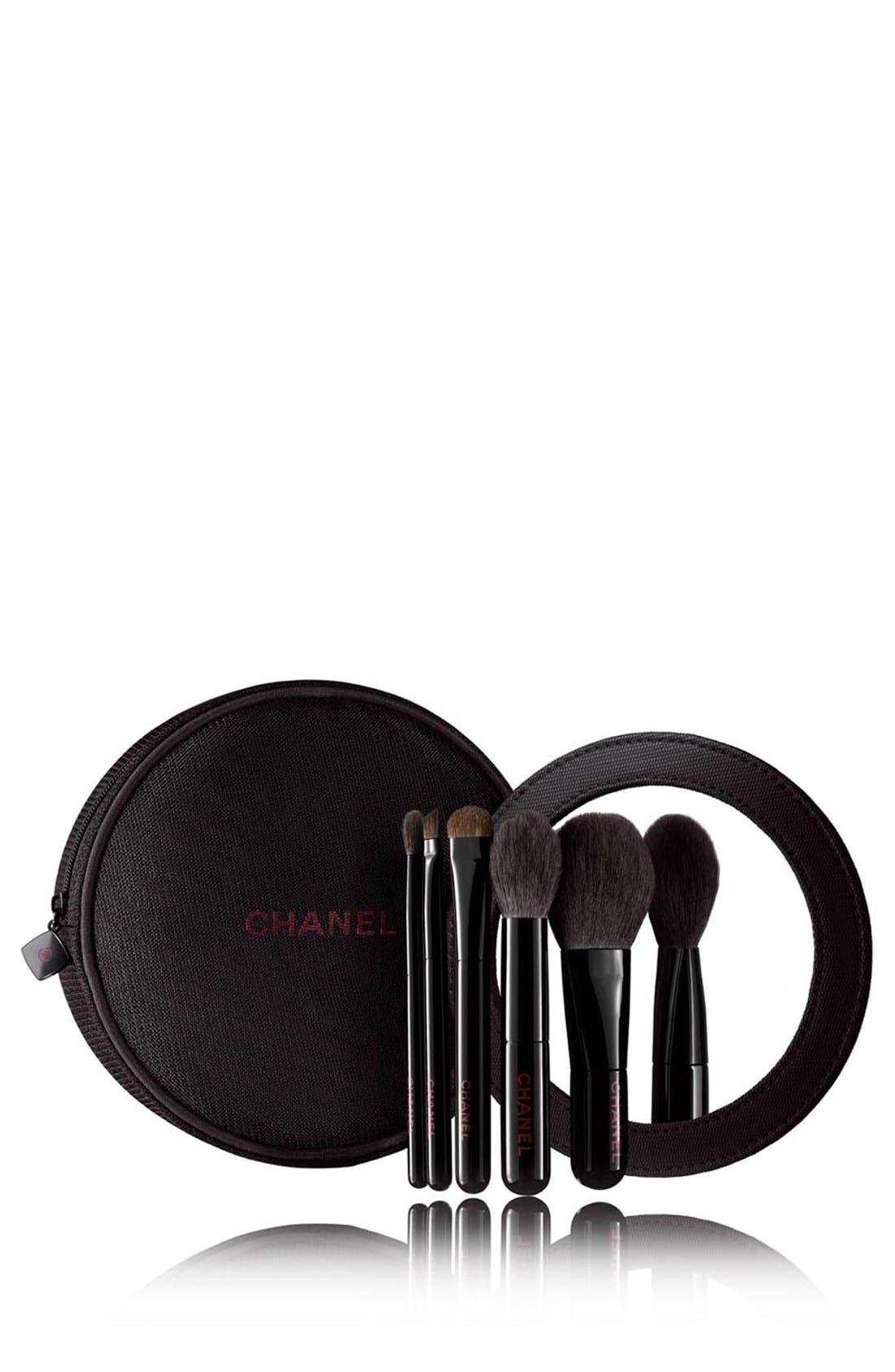LES MINIS DE CHANEL<br />Mini Brush Set, Main, color, 000