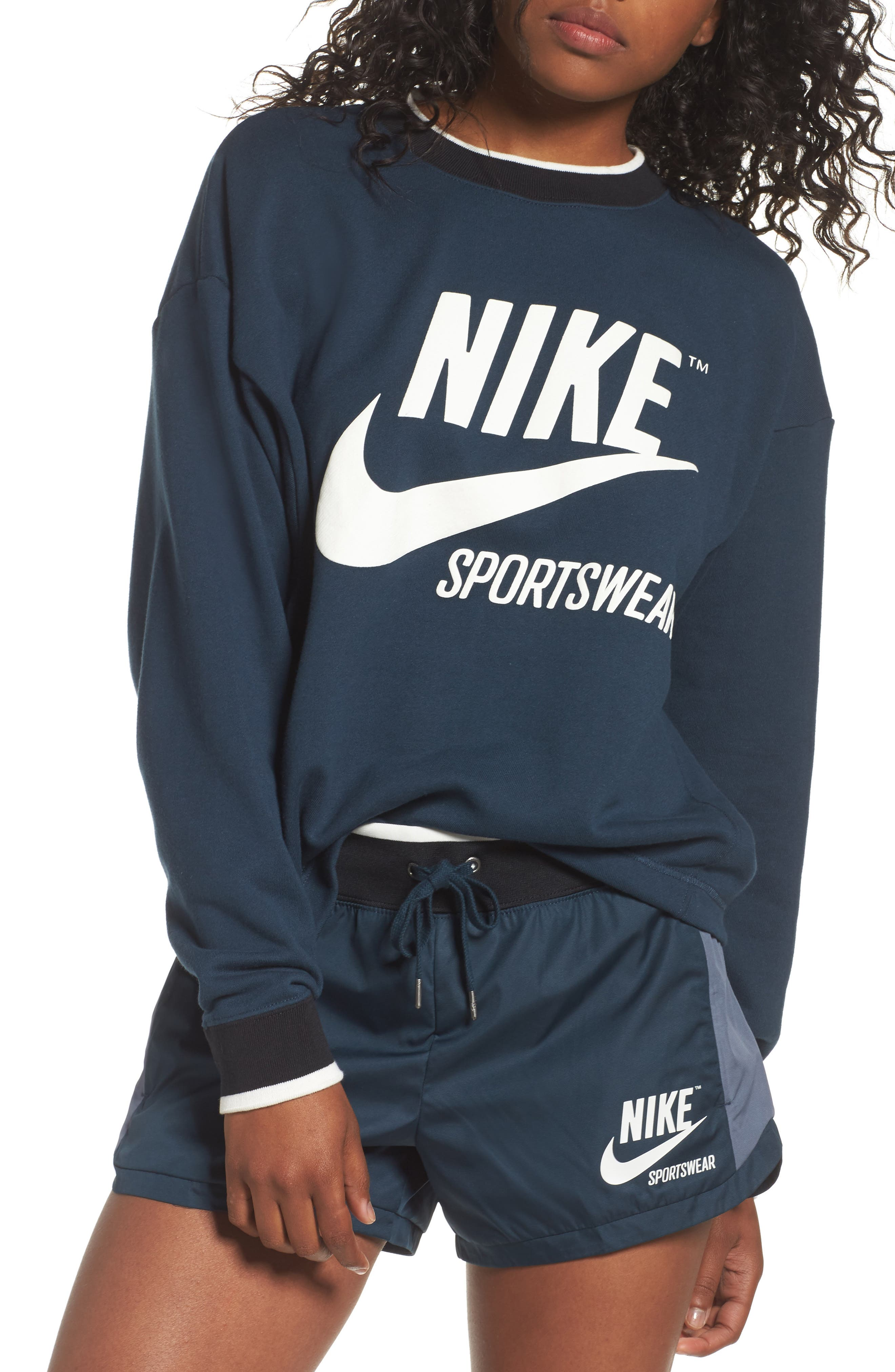 Sportswear Archive Sweatshirt,                             Main thumbnail 1, color,                             454