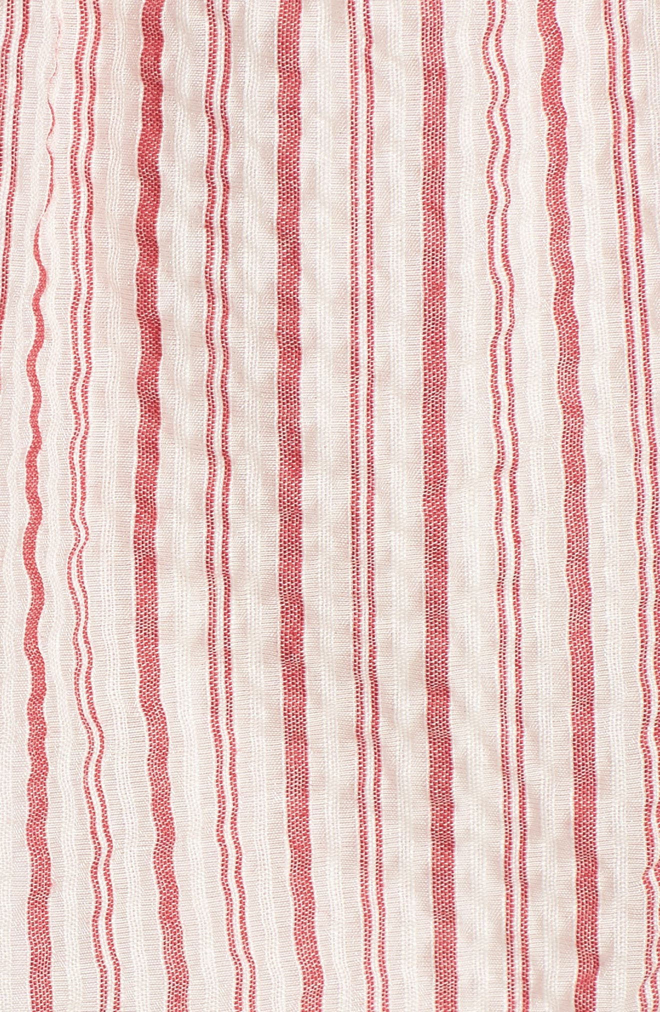 Melly Stripe Top,                             Alternate thumbnail 5, color,                             603