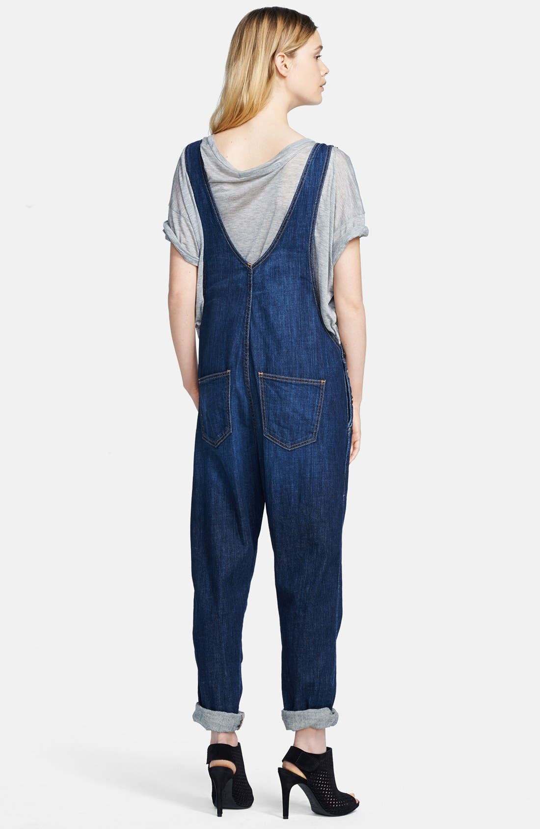 CURRENT/ELLIOTT,                             'The Ranch Hand' Overalls,                             Alternate thumbnail 2, color,                             464