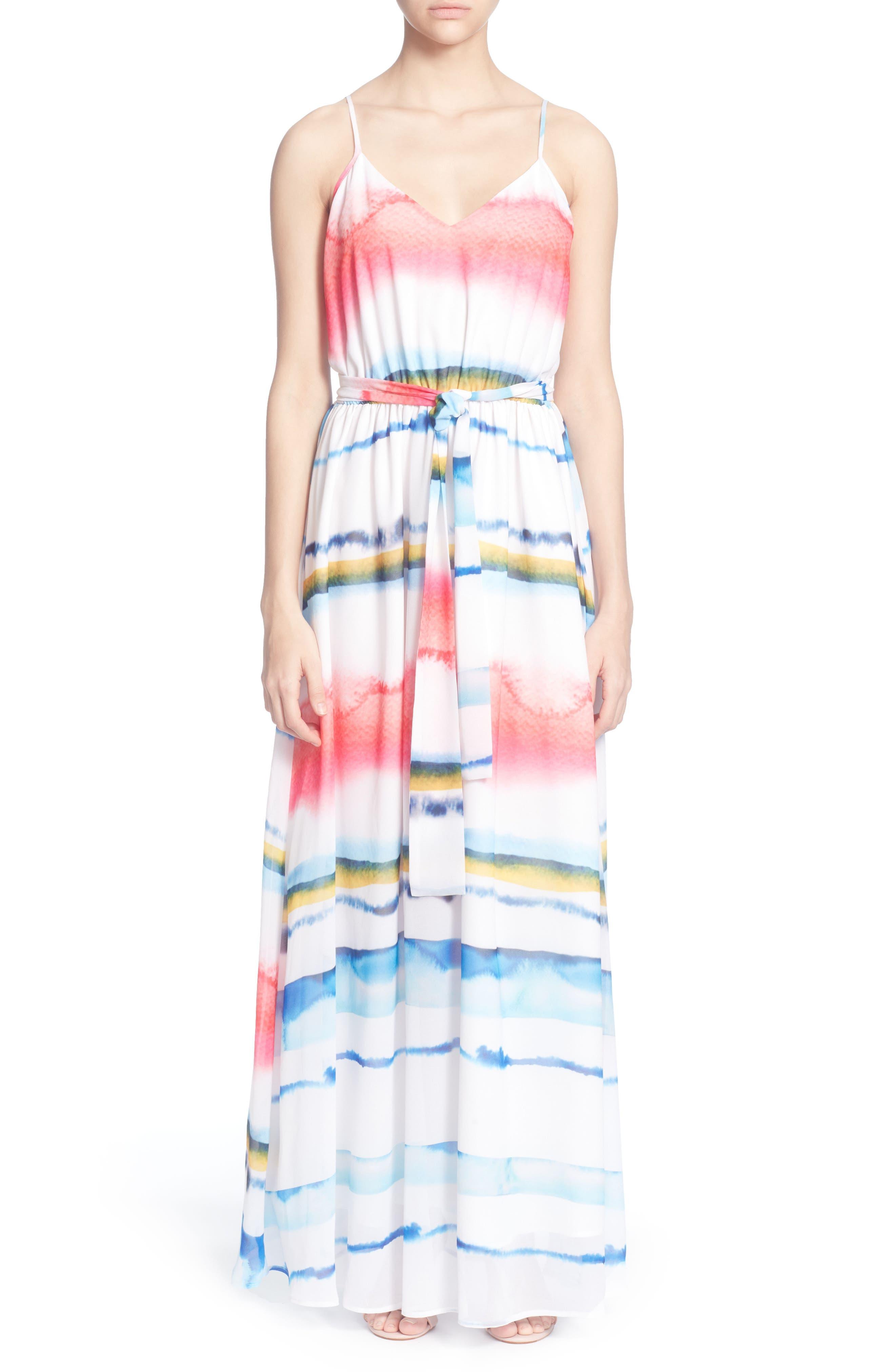 Catherine Catherine Malandrino Cody Maxi Dress, White