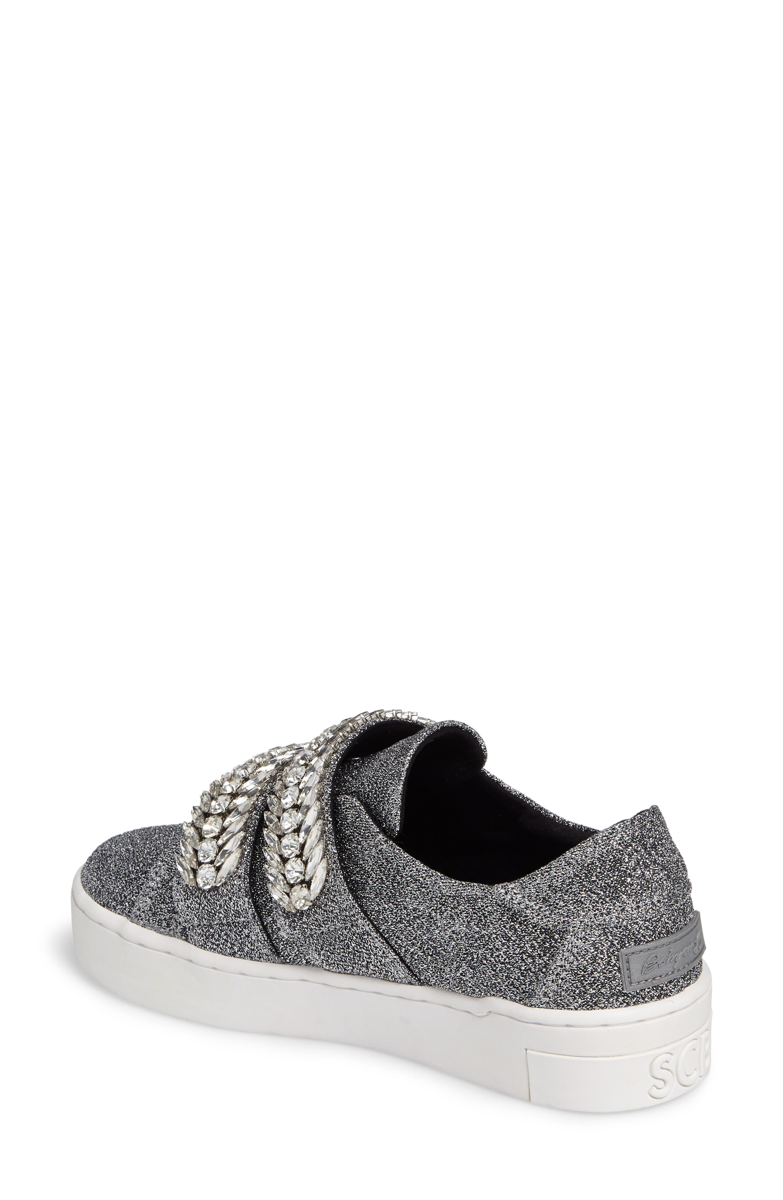 SUECOMMA BONNIE,                             Crystal Embellished Sneaker,                             Alternate thumbnail 2, color,                             040