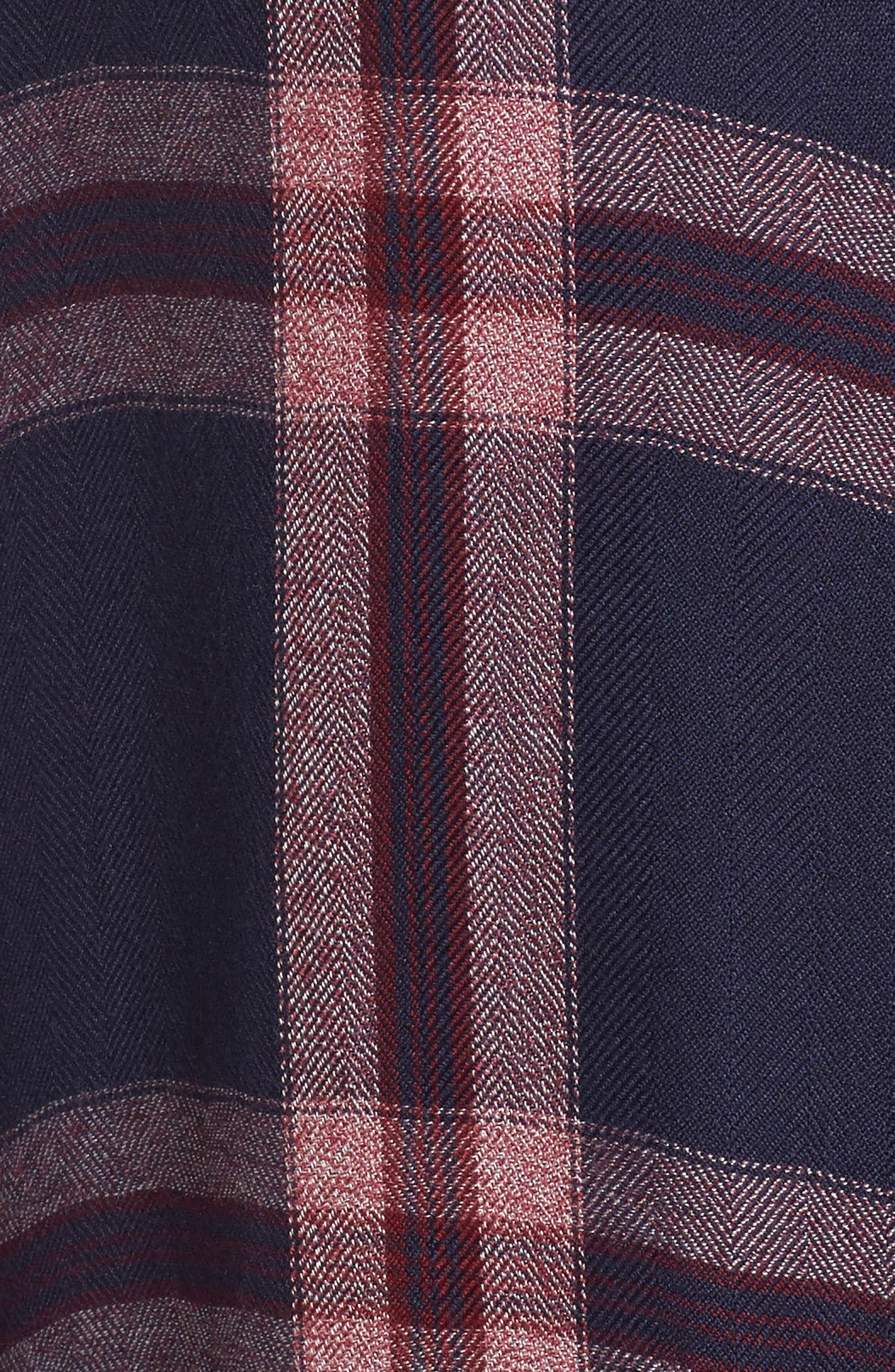 Plaid Sleep Shirt,                             Alternate thumbnail 5, color,