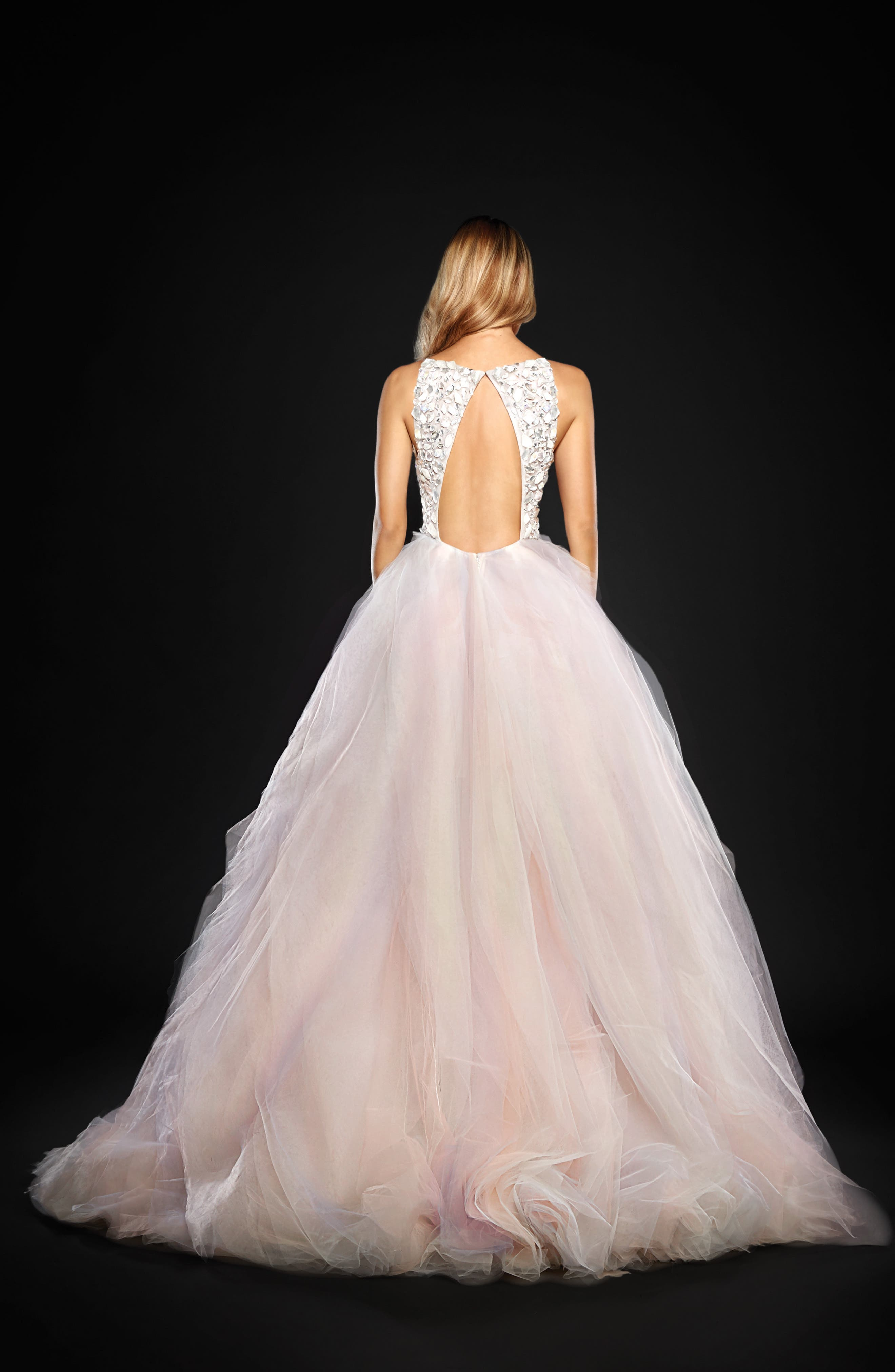 Jem Rock Candy Embellished Tulle Ballgown,                             Alternate thumbnail 2, color,                             900