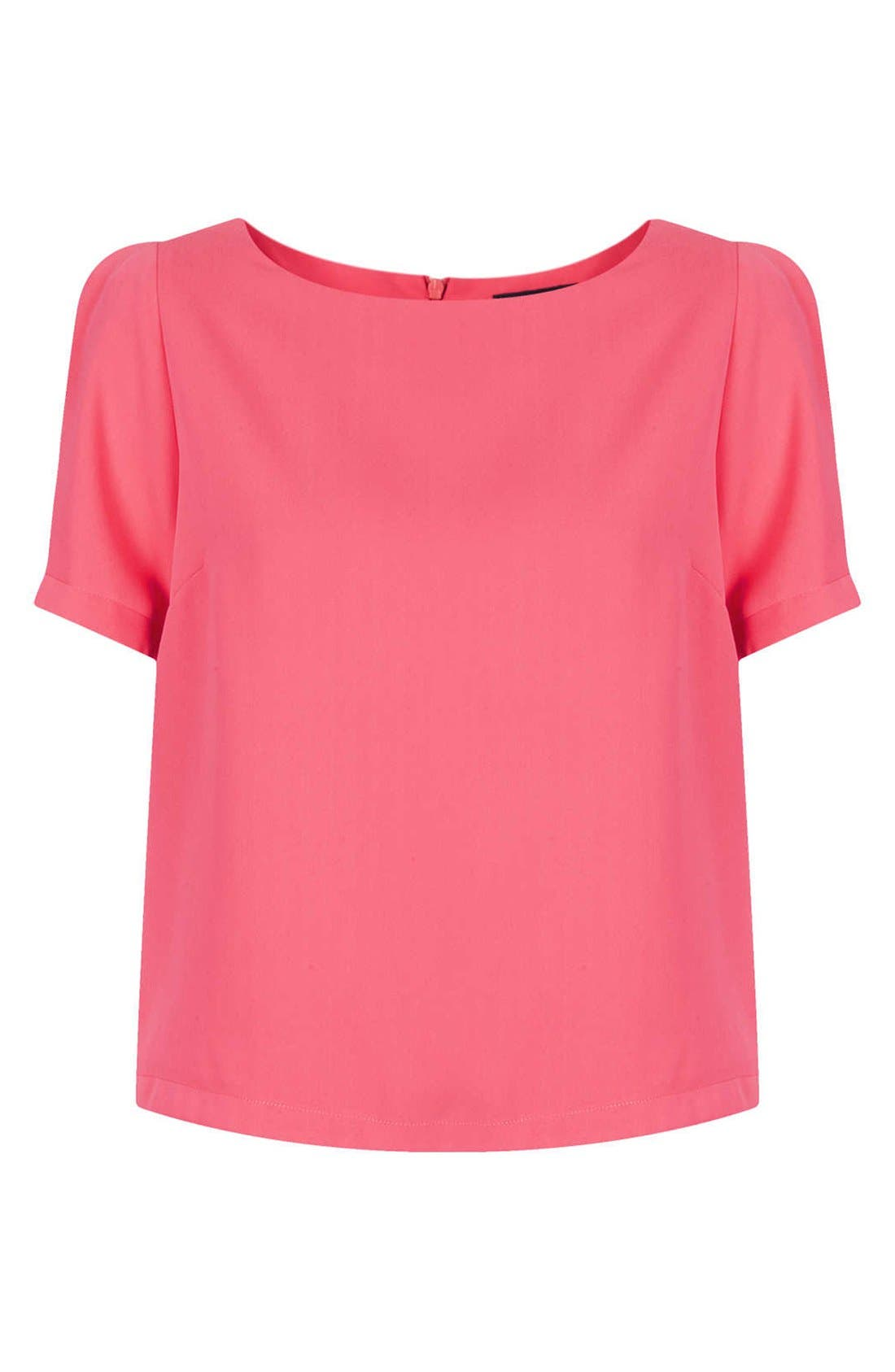 TOPSHOP,                             Tea Blouse,                             Alternate thumbnail 2, color,                             650