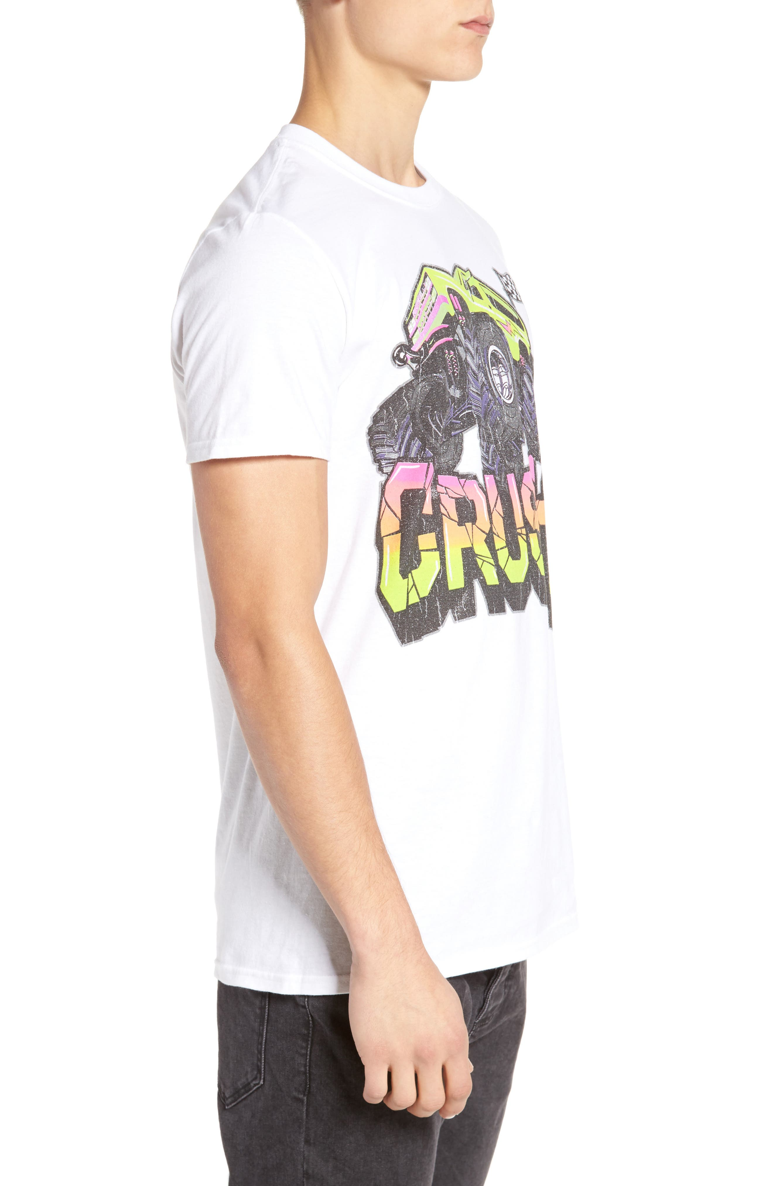 Monster Crush Graphic T-Shirt,                             Alternate thumbnail 3, color,                             100