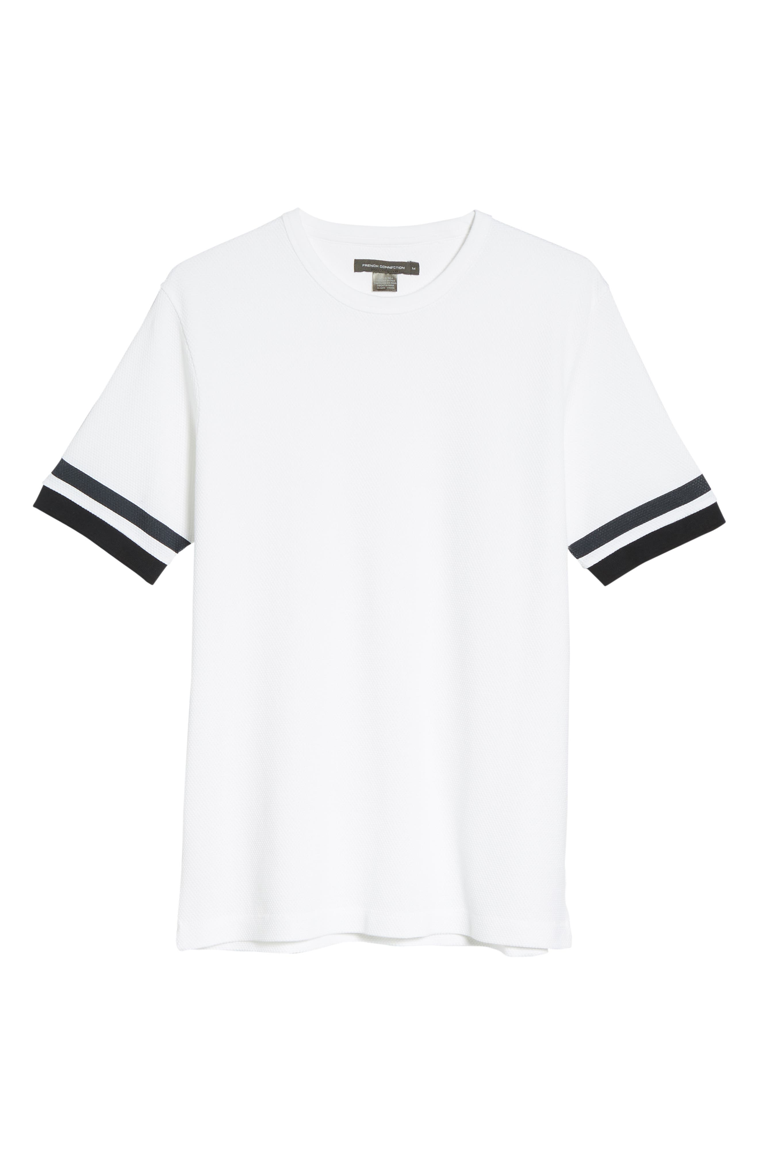 Ampthill Crewneck T-Shirt,                             Alternate thumbnail 6, color,                             WHITE
