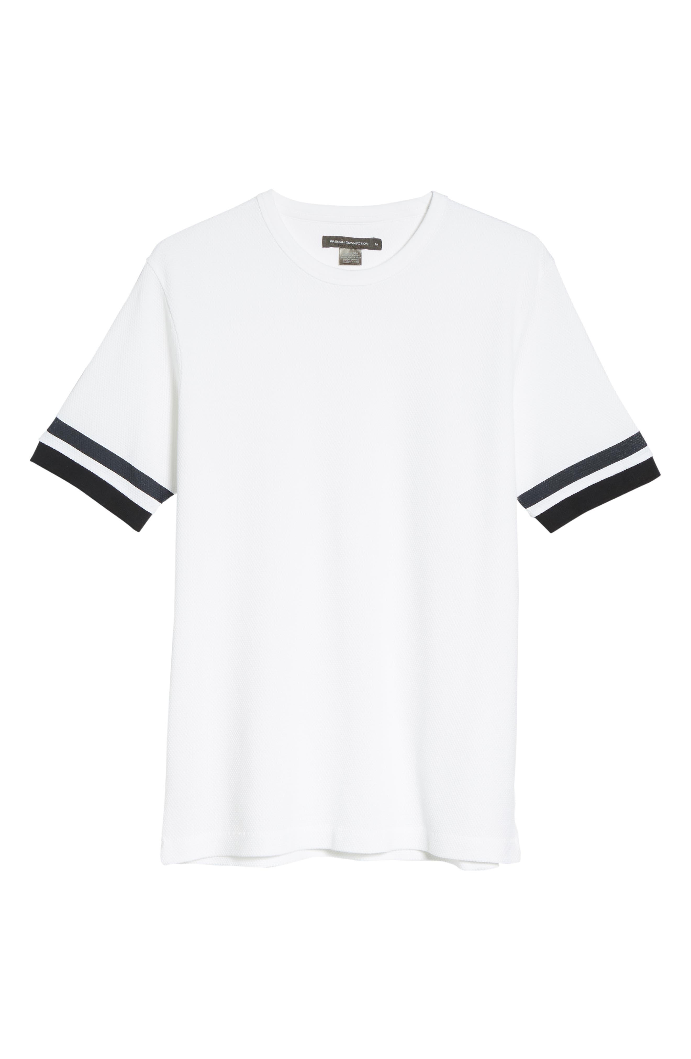Ampthill Crewneck T-Shirt,                             Alternate thumbnail 6, color,                             100