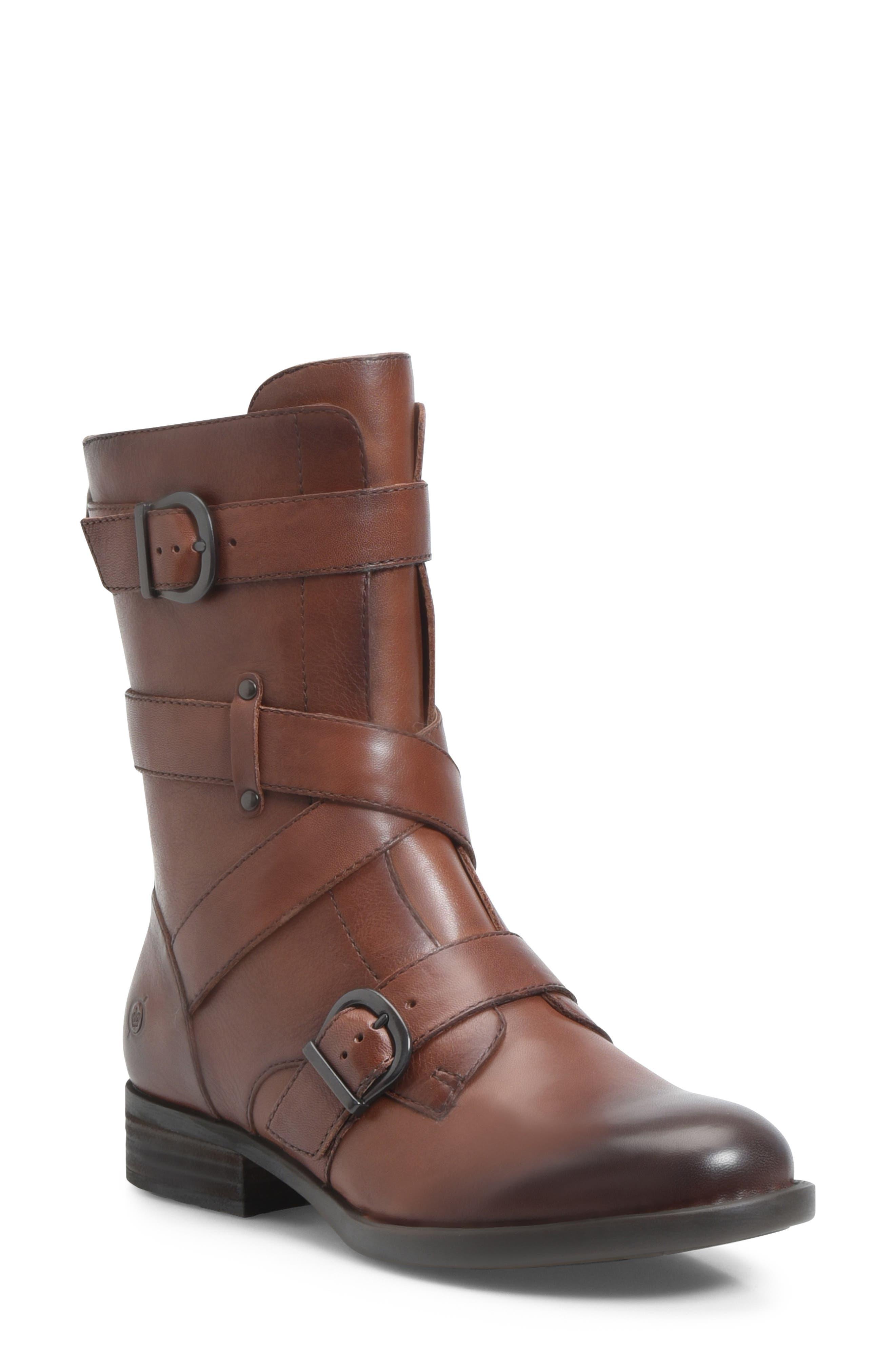 B?rn Portia Buckle Boot, Brown
