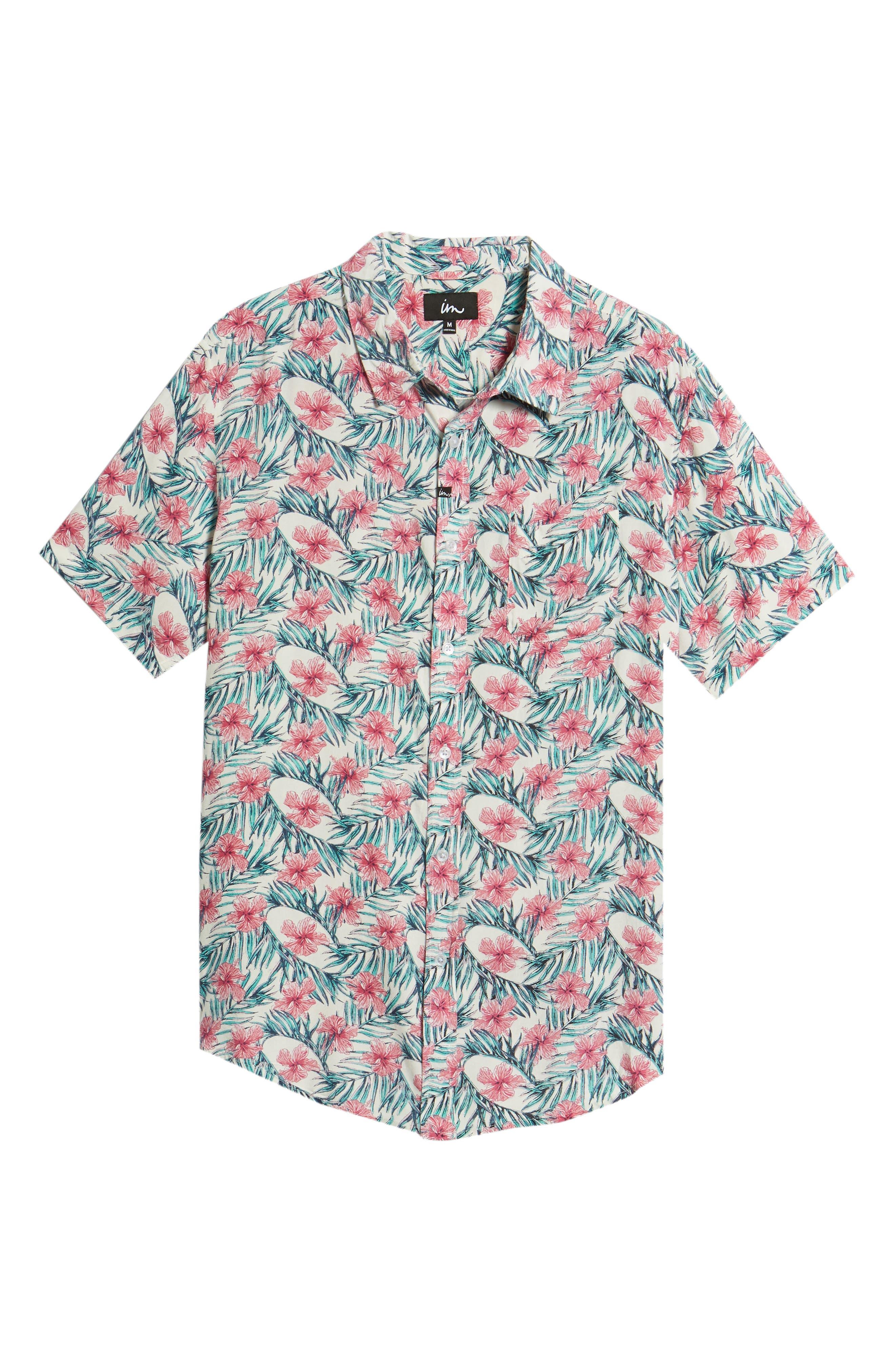 Carolina Woven Shirt,                             Alternate thumbnail 6, color,                             100
