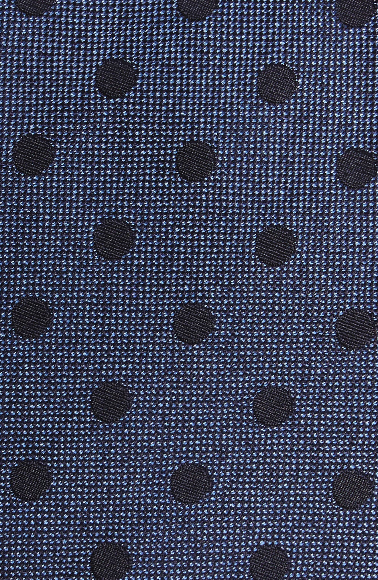 Dot Silk Tie,                             Alternate thumbnail 4, color,