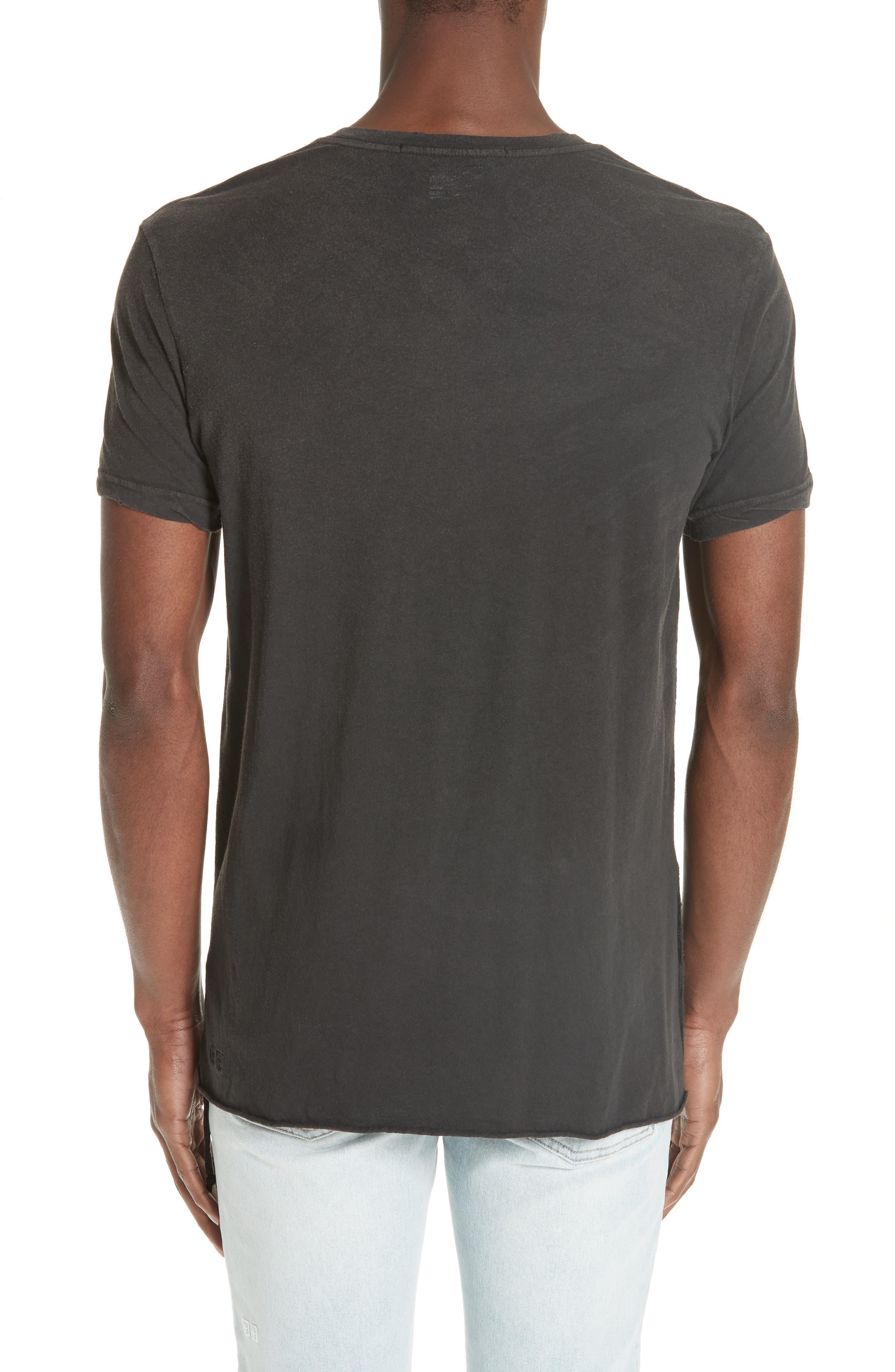 Faded T-Shirt,                             Alternate thumbnail 2, color,                             BLACK