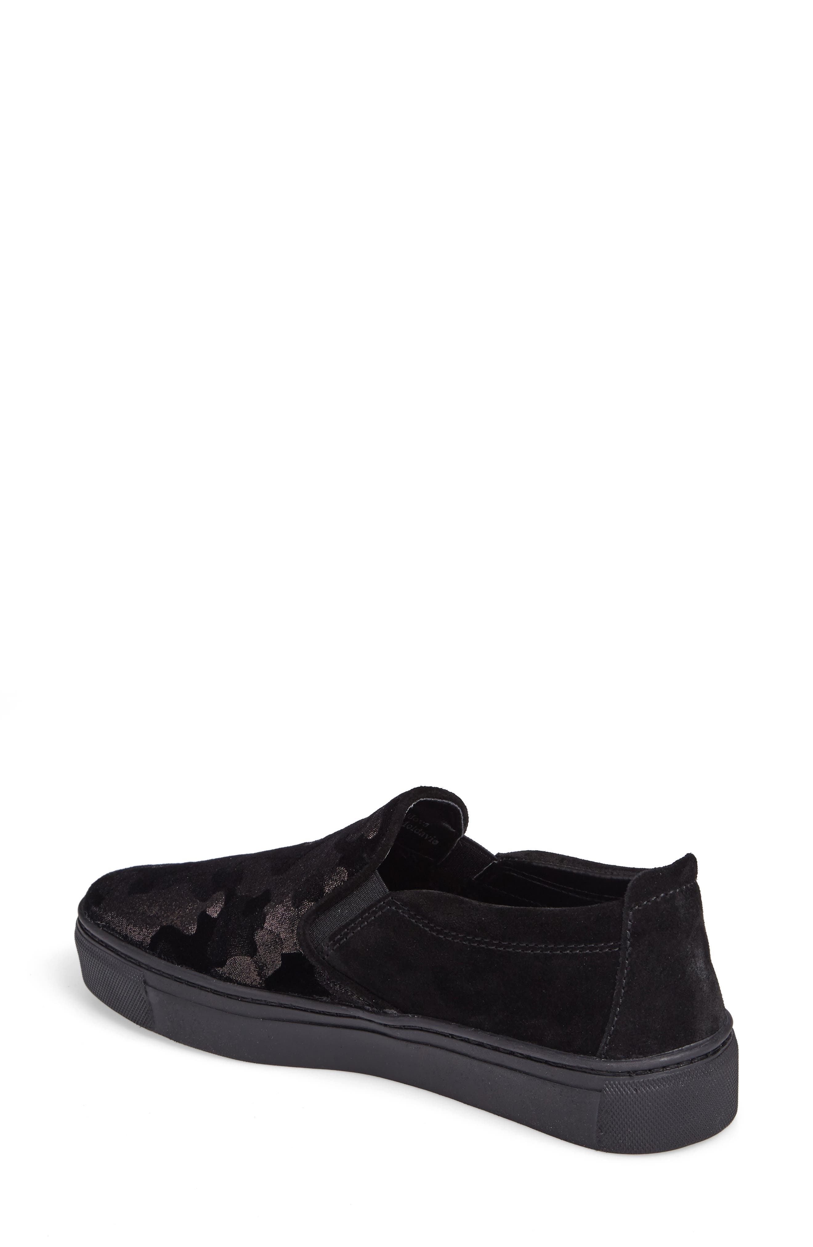 Full Time Sneaker,                             Alternate thumbnail 2, color,                             BLACK SUEDE