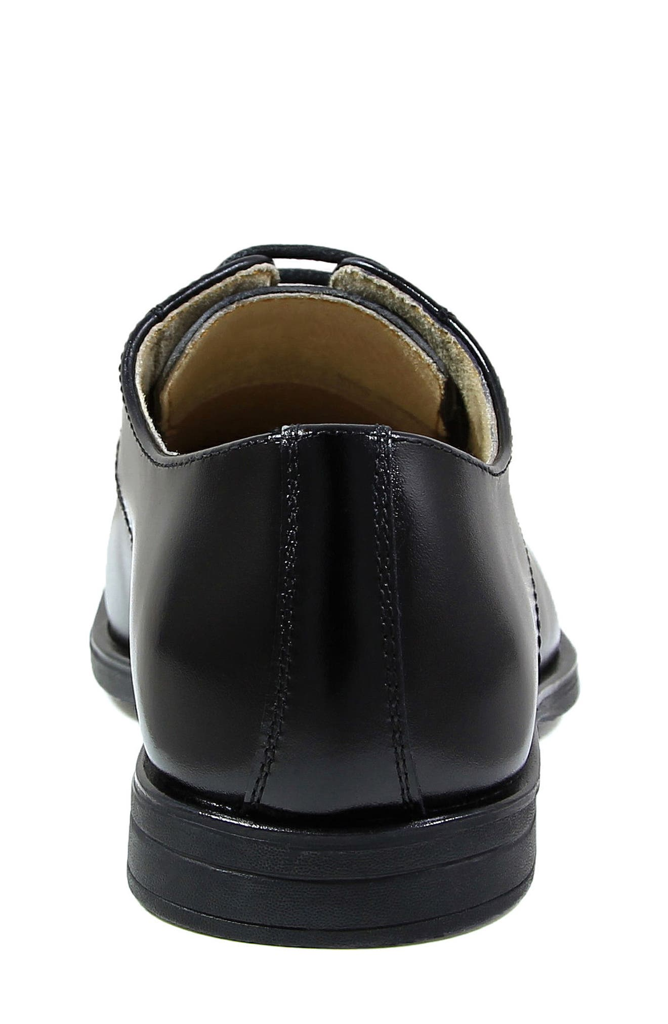 Reveal Cap Toe Derby,                             Alternate thumbnail 7, color,                             BLACK