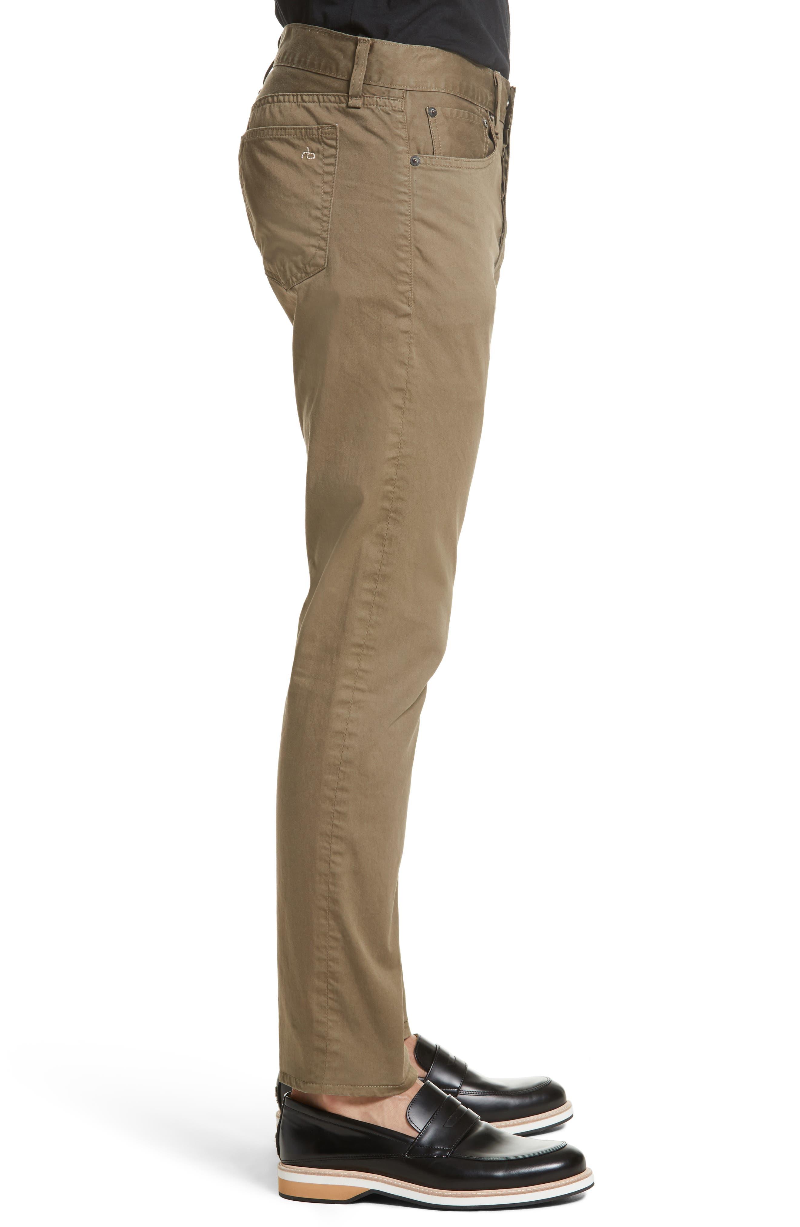 Fit 2 Five-Pocket Twill Pants,                             Alternate thumbnail 3, color,                             319