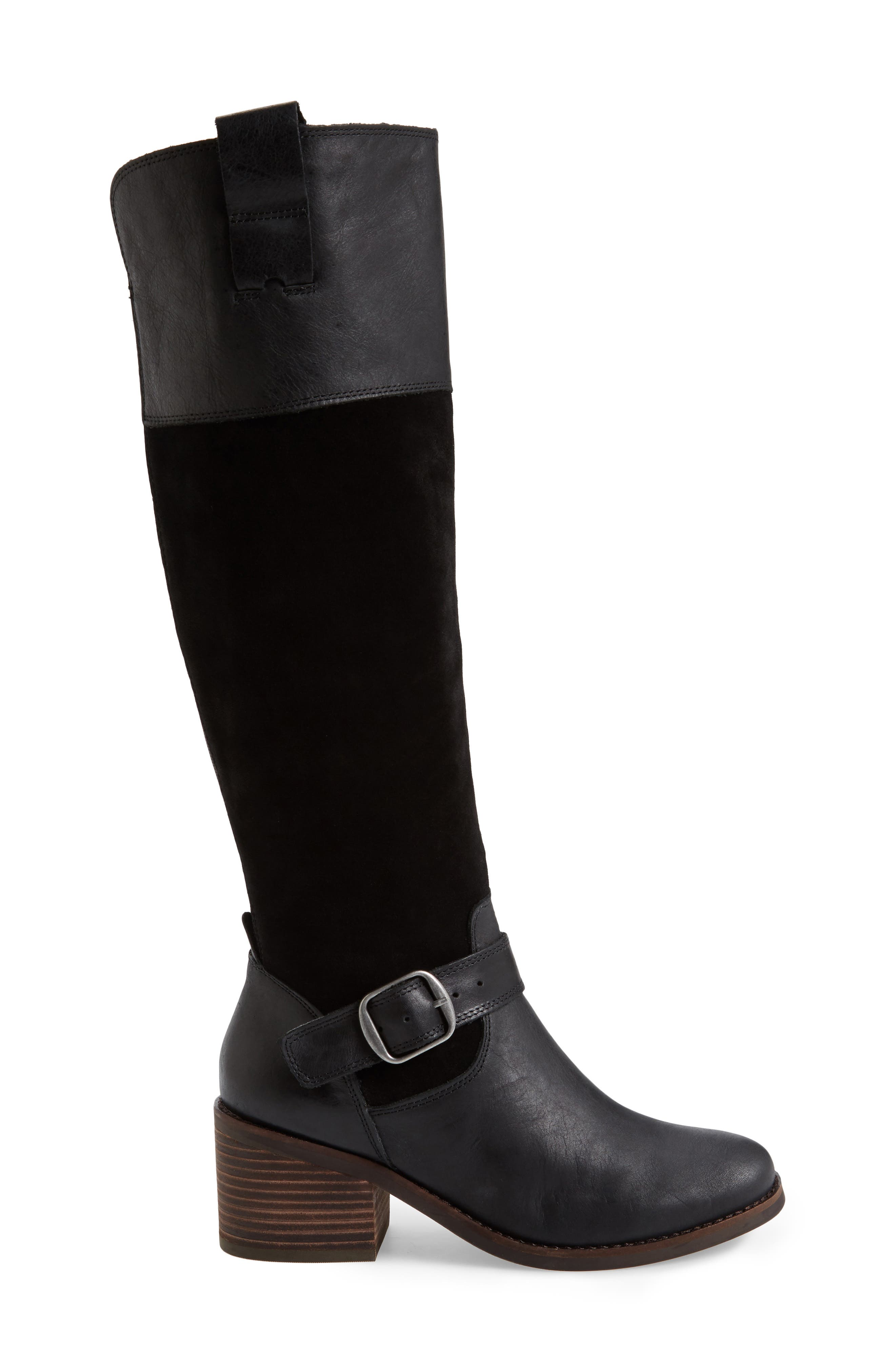 Kailan Ankle Strap Tall Boot,                             Alternate thumbnail 7, color,