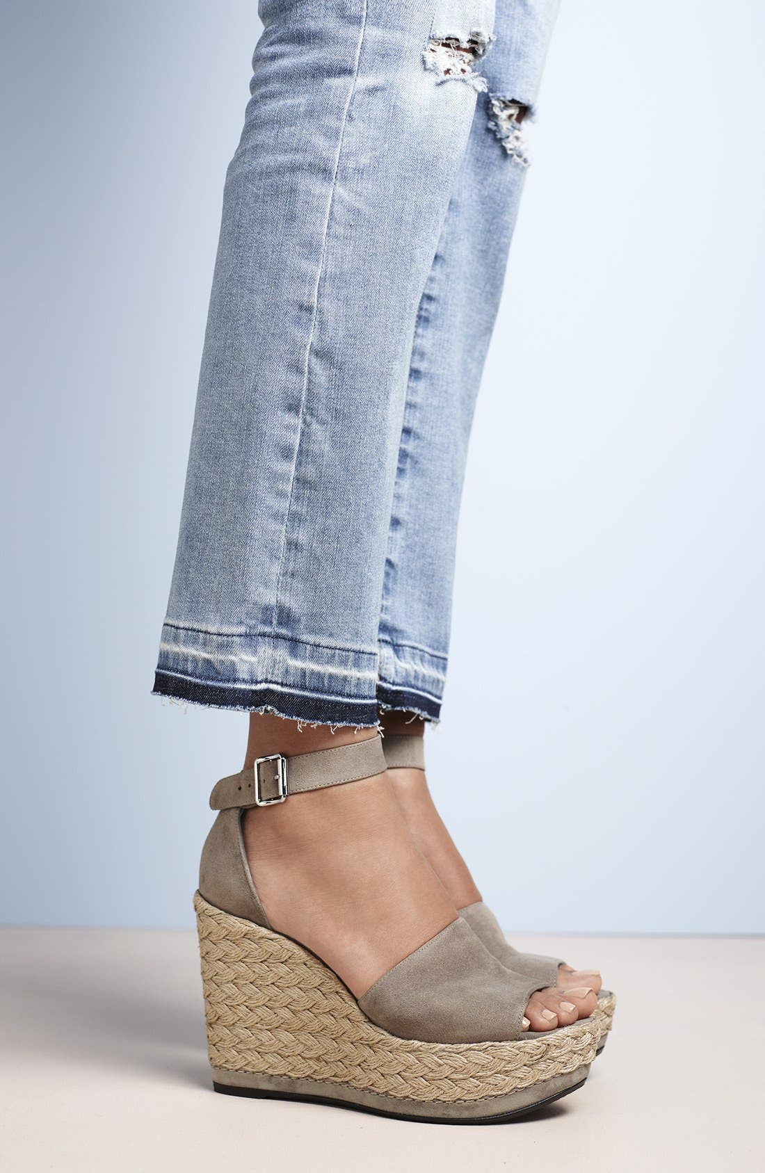 'Soho Gal' Espadrille Wedge Sandal,                         Main,                         color, 201