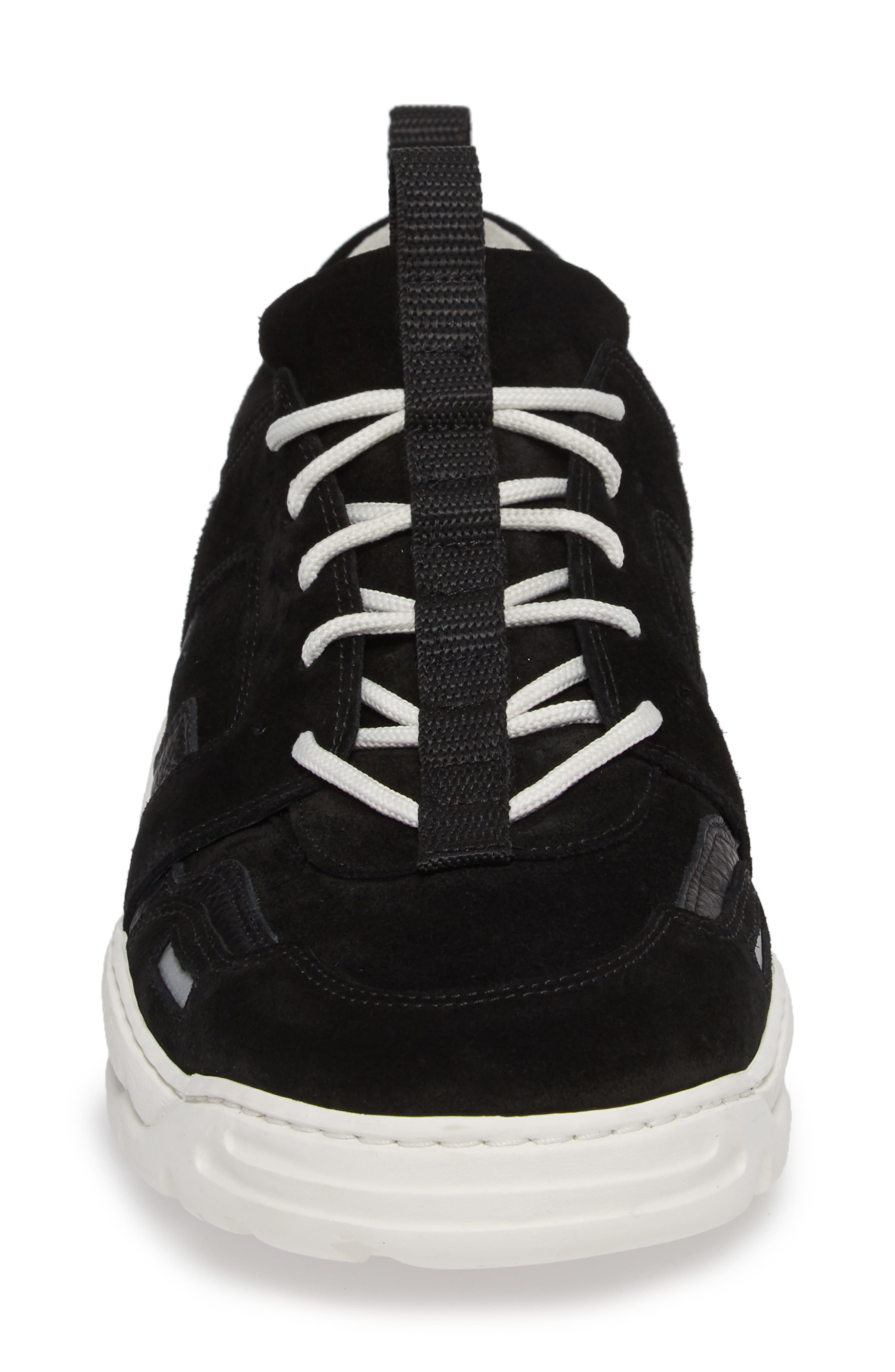Colorblock Runner Sneaker,                             Alternate thumbnail 4, color,                             010