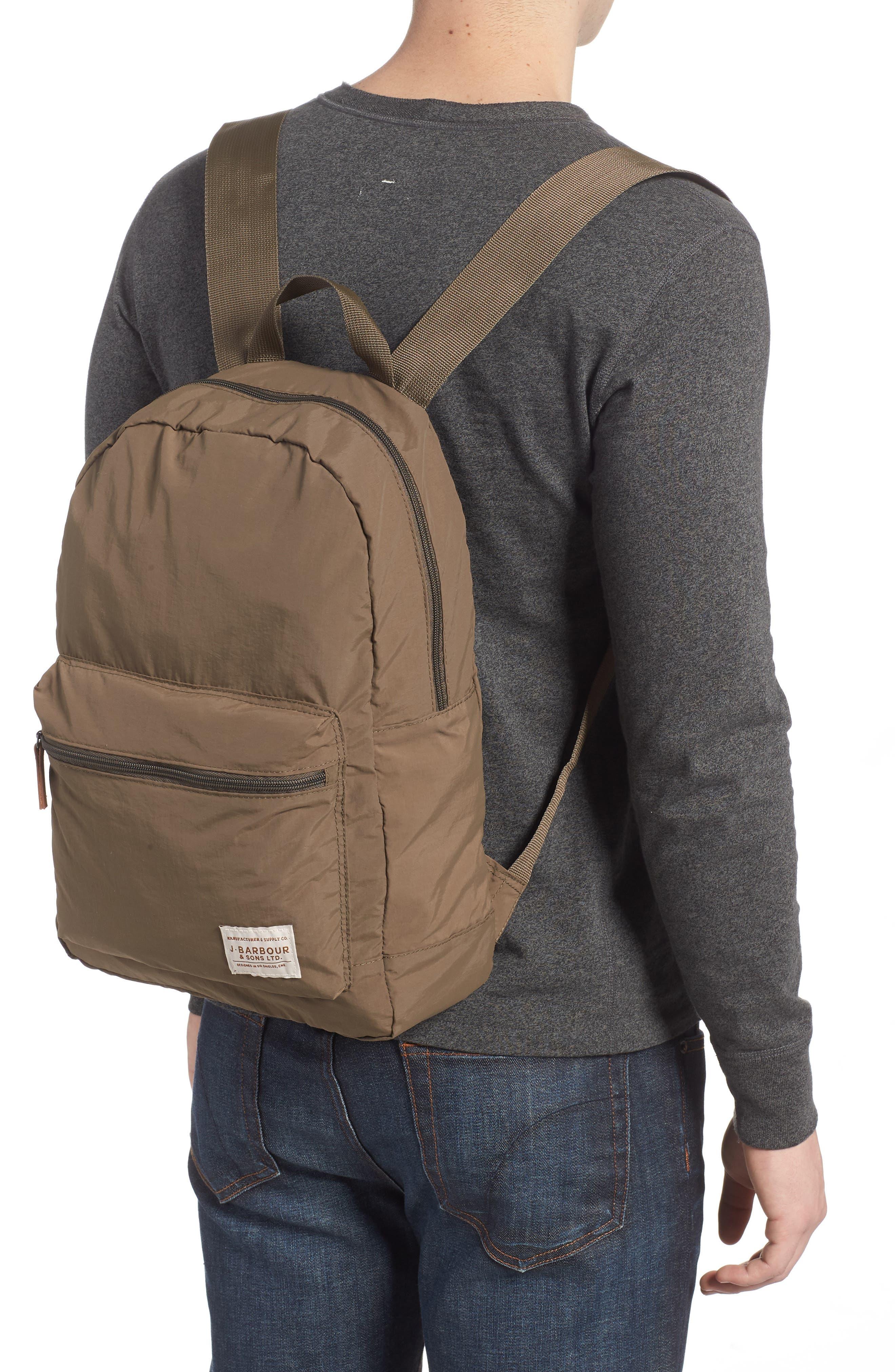 Beauly Packable Backpack,                             Alternate thumbnail 2, color,                             KHAKI