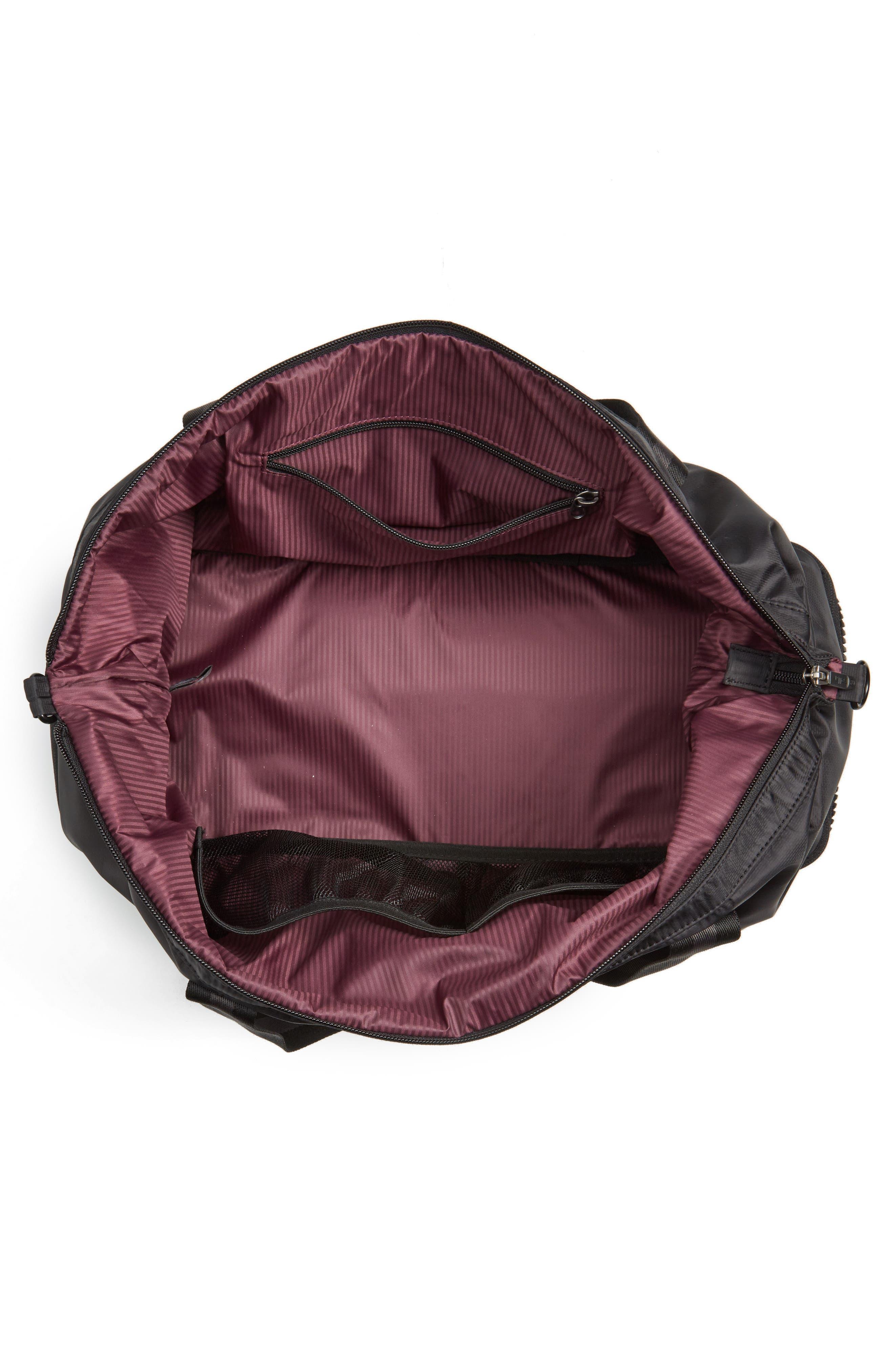 Alcove Duffel Bag,                             Alternate thumbnail 4, color,                             001