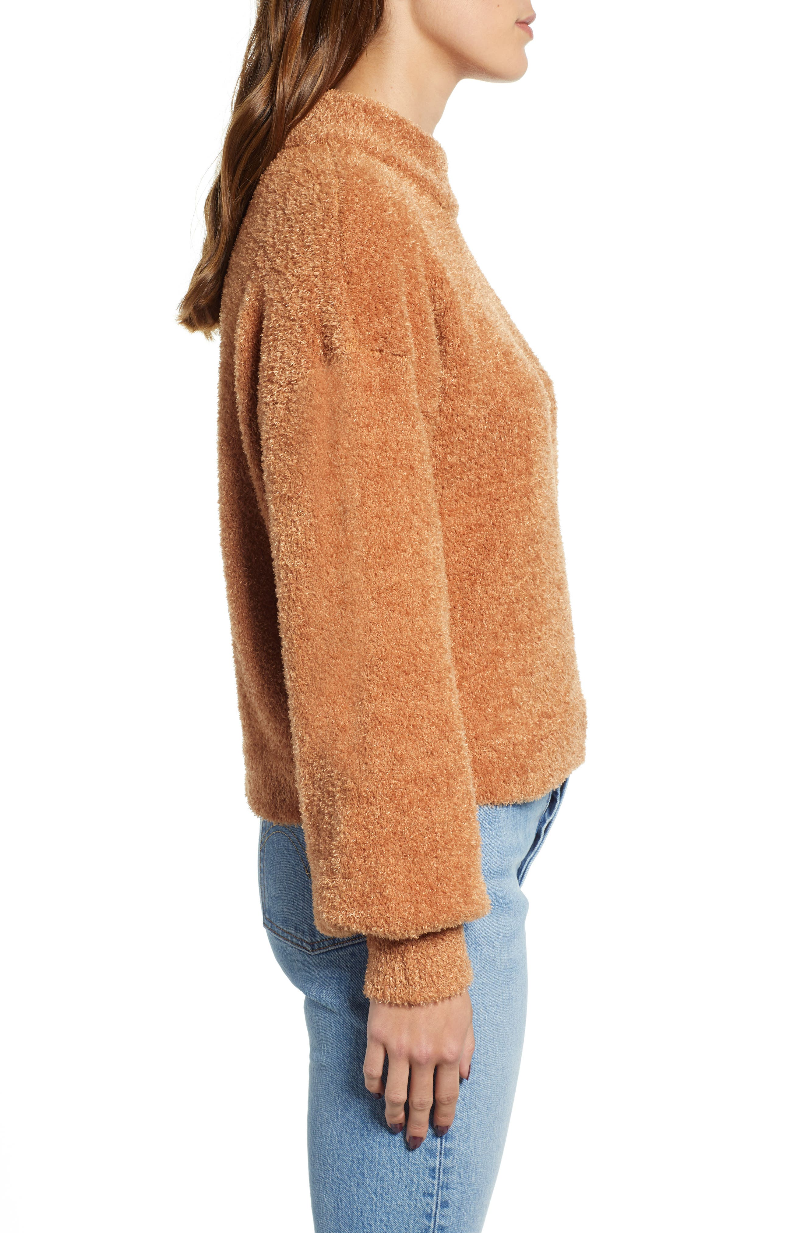 CODEXMODE,                             Cozy Chenille Sweater,                             Alternate thumbnail 3, color,                             250