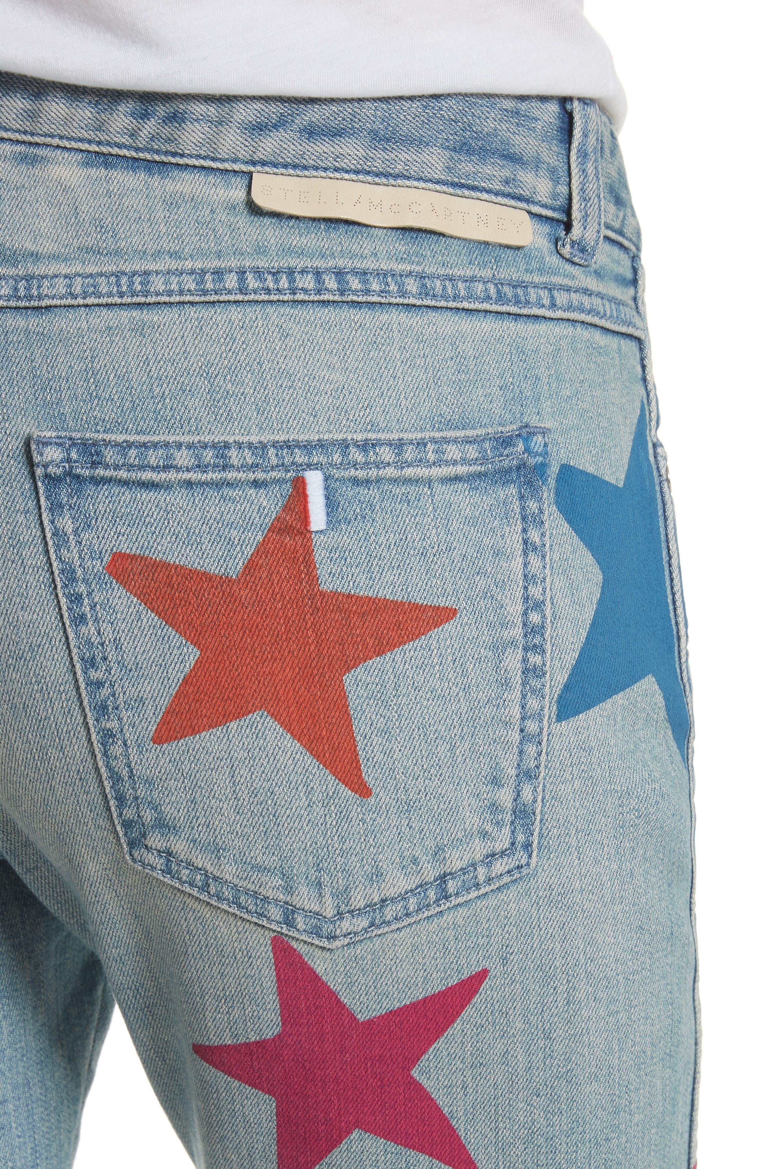 The Skinny Boyfriend Star Jeans,                             Alternate thumbnail 4, color,                             400