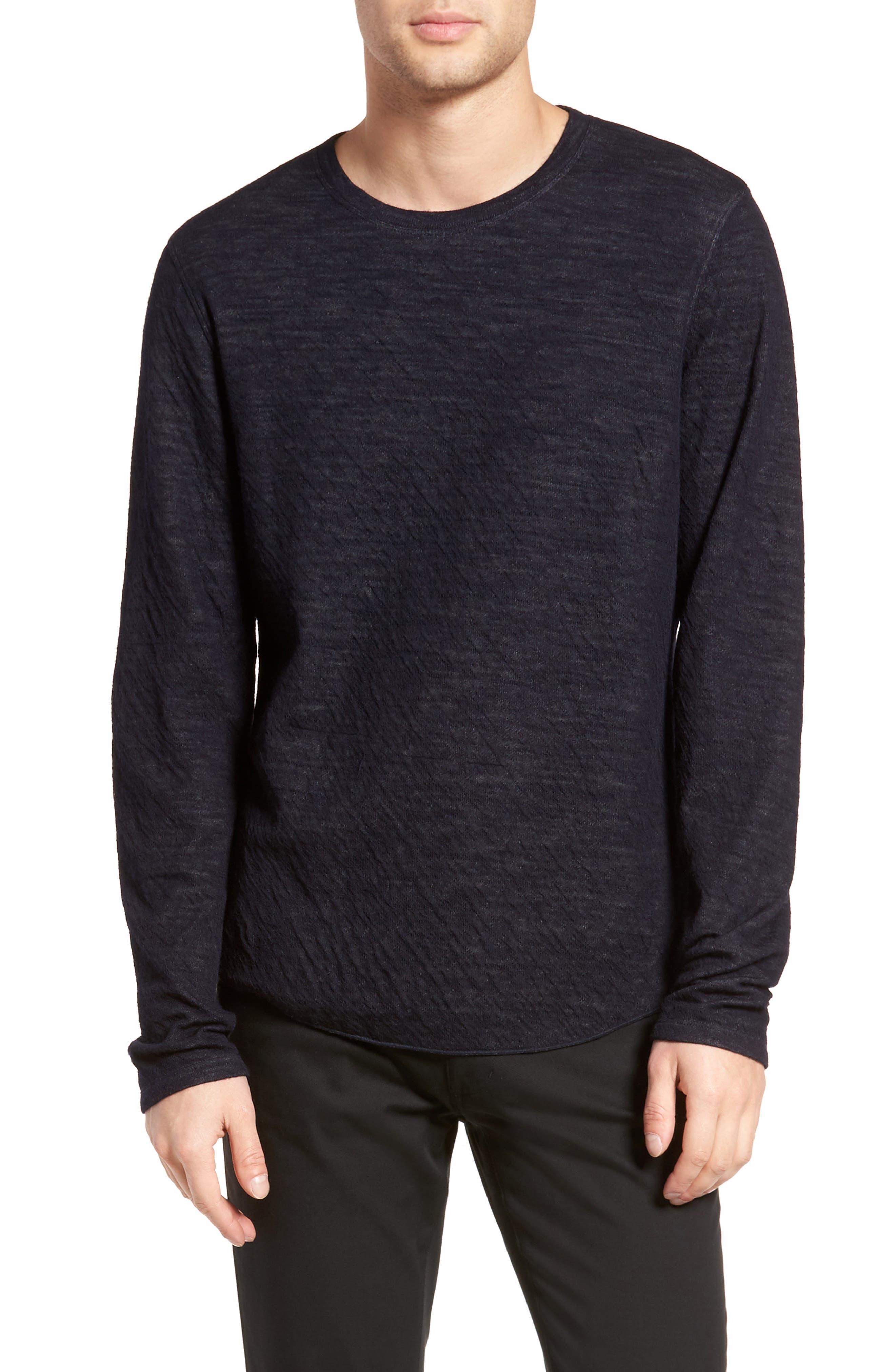 Double Knit Long Sleeve Shirt,                             Main thumbnail 2, color,