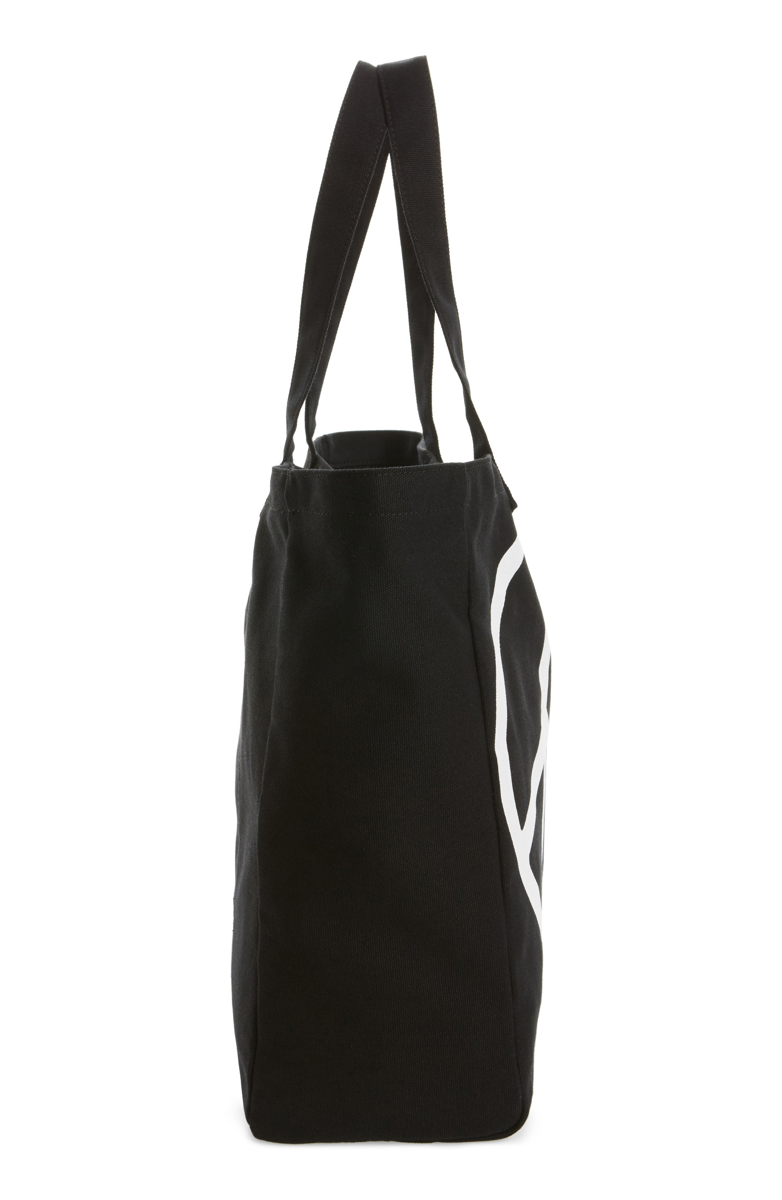 Oversized Canvas Tote,                             Alternate thumbnail 15, color,