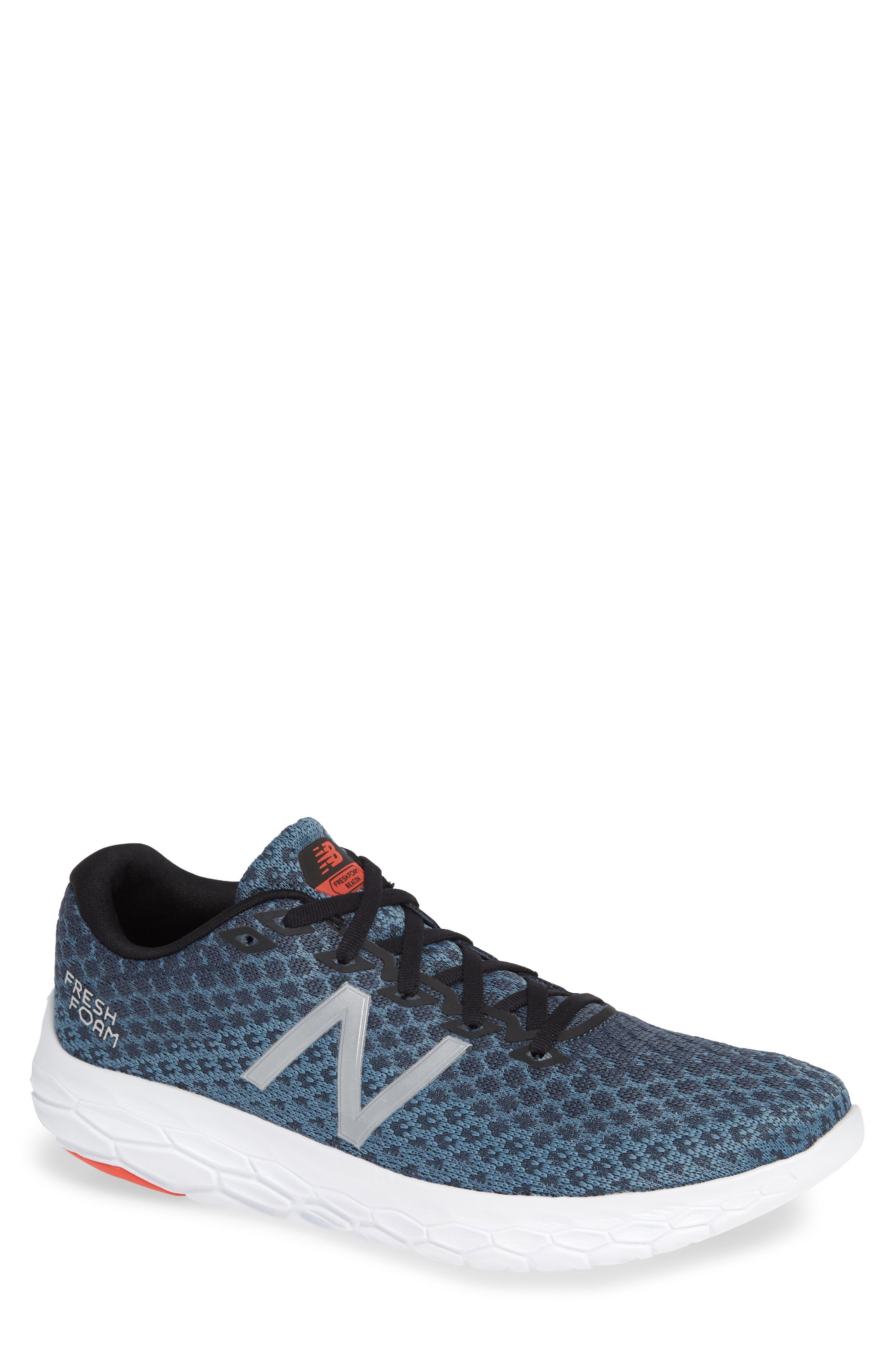 Fresh Foam Beacon Running Shoe, Main, color, PETROL