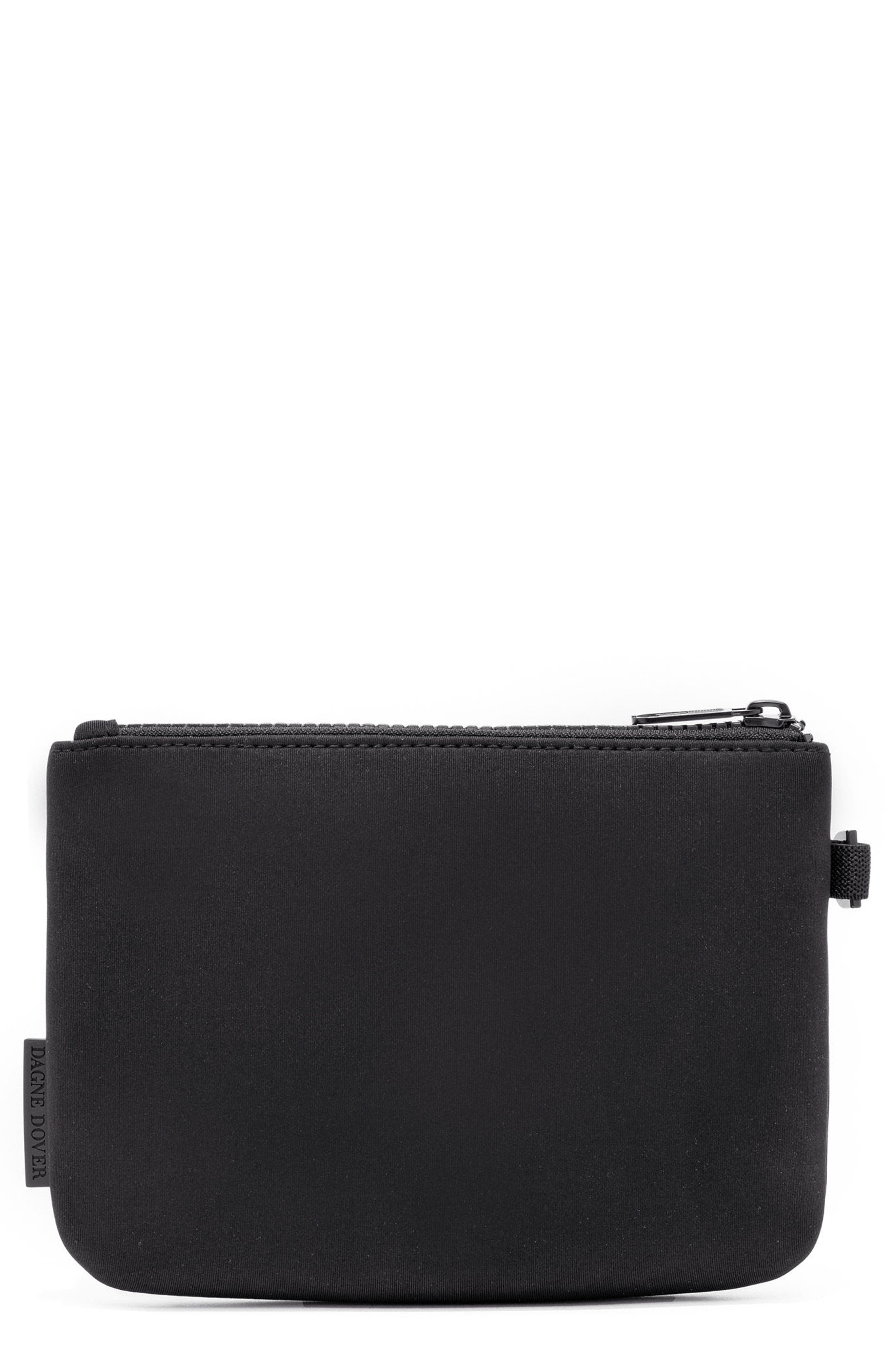 Scout Small Zip Top Pouch,                             Main thumbnail 1, color,                             ONYX
