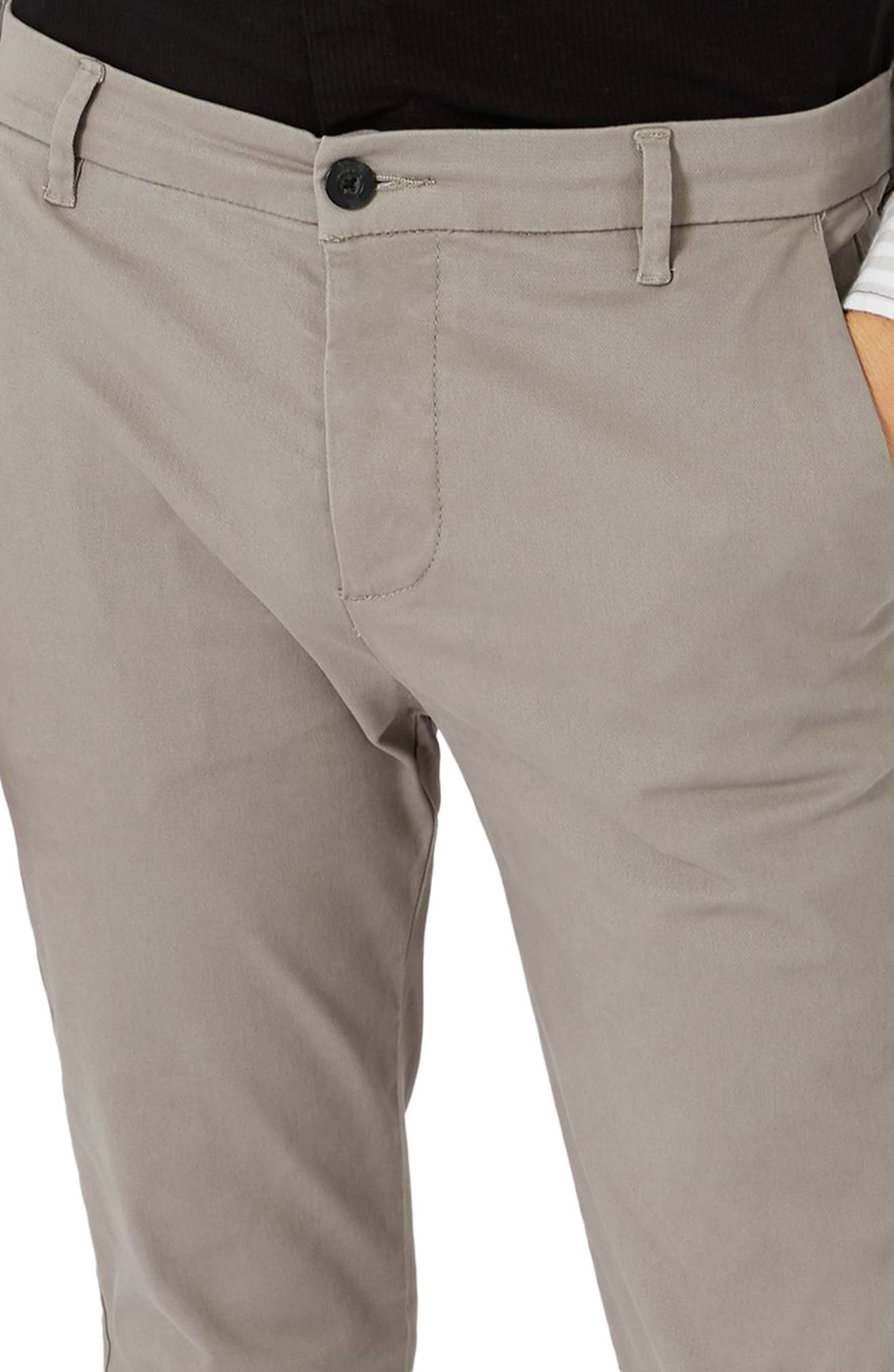 Skinny Fit Chinos,                             Alternate thumbnail 5, color,