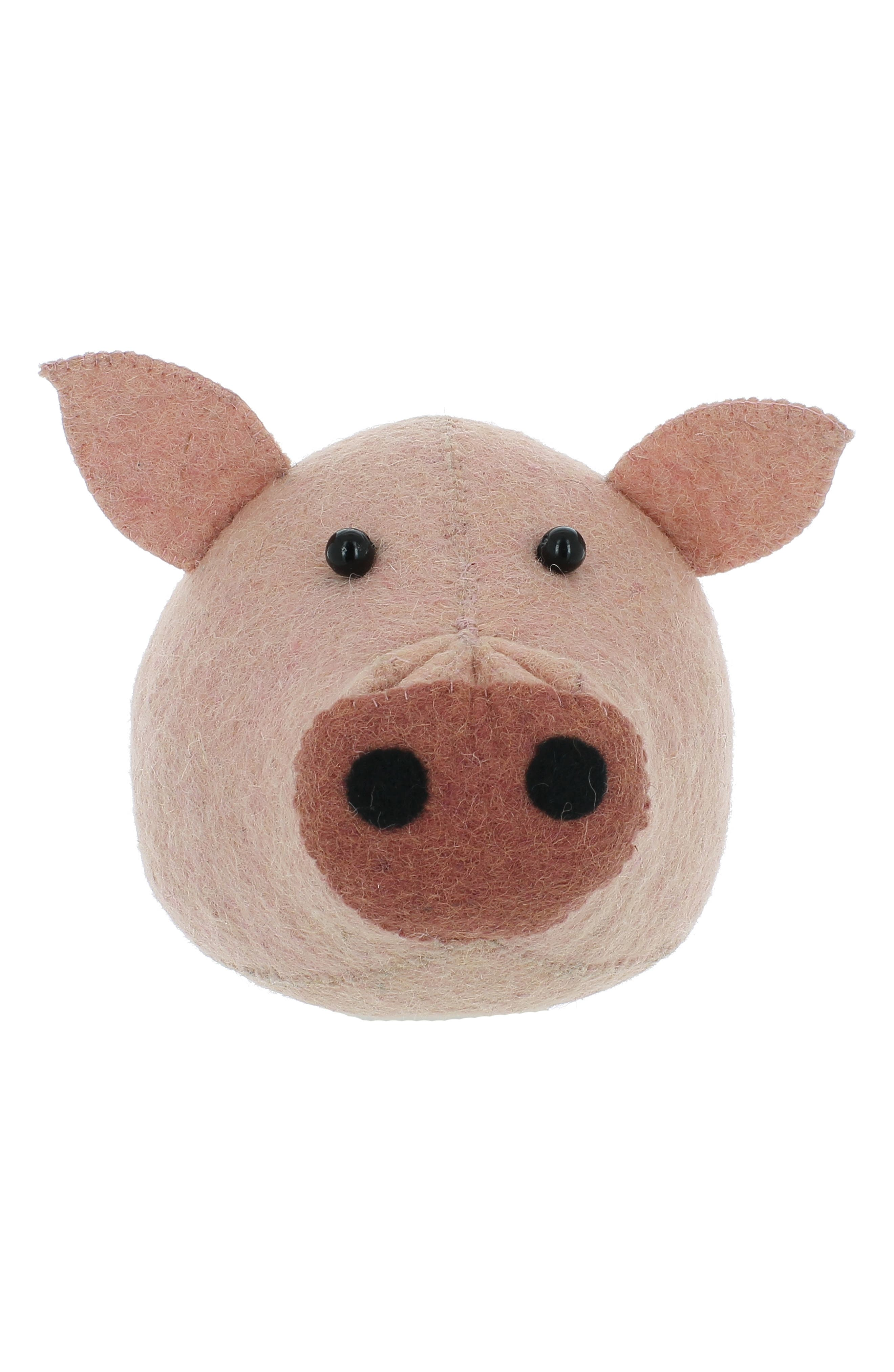 Fiona Walker Pig Head Wall Art Size One Size  Pink