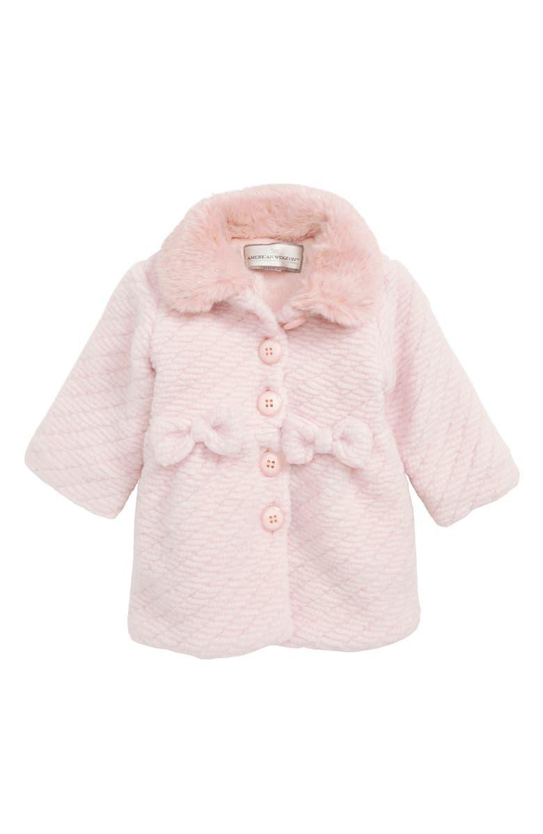 a2b4beb106be Widgeon Faux Fur Collar Coat (Baby Girls)